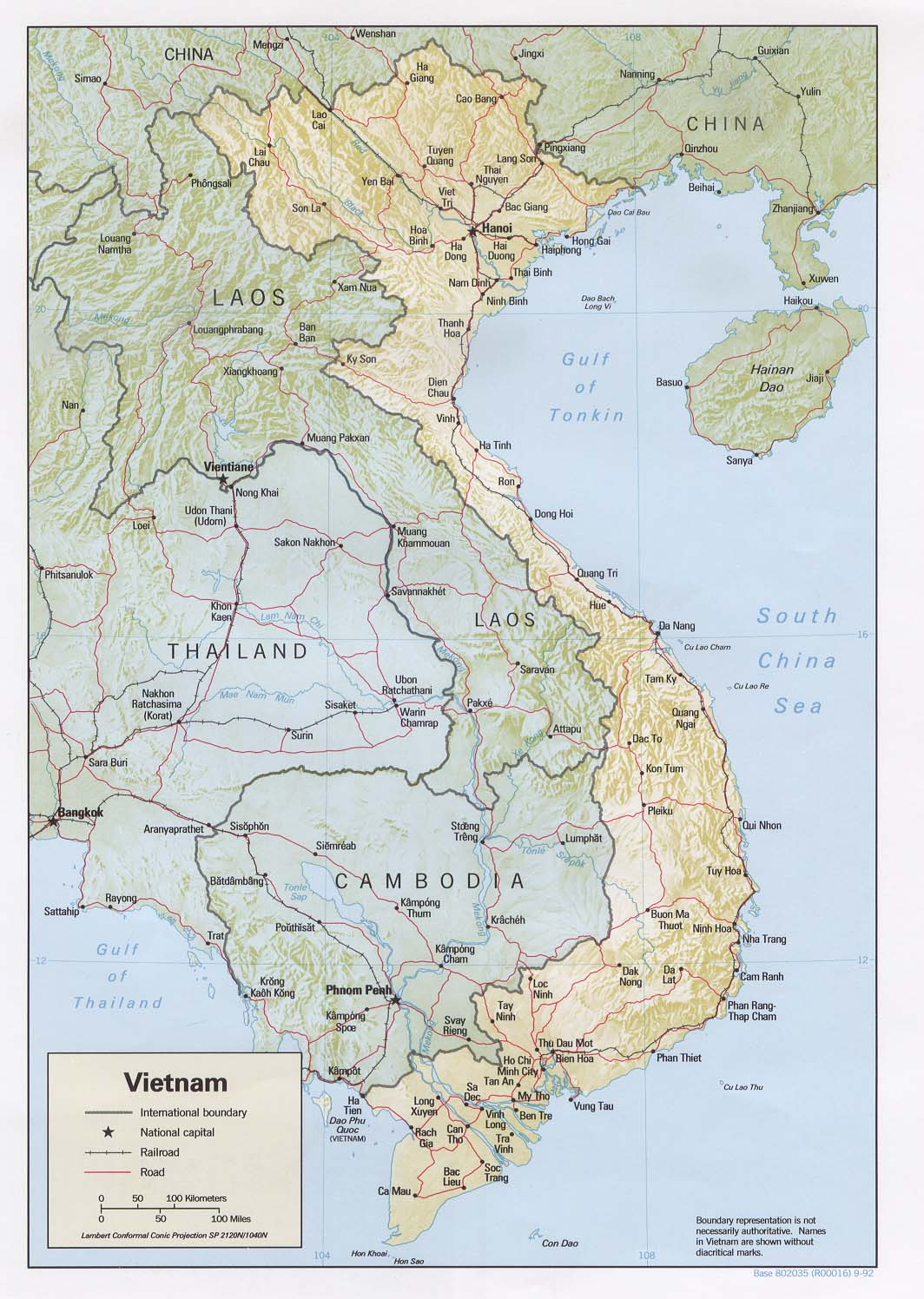 Vietnam Maps PerryCastañeda Map Collection UT Library Online - World map in vietnamese language