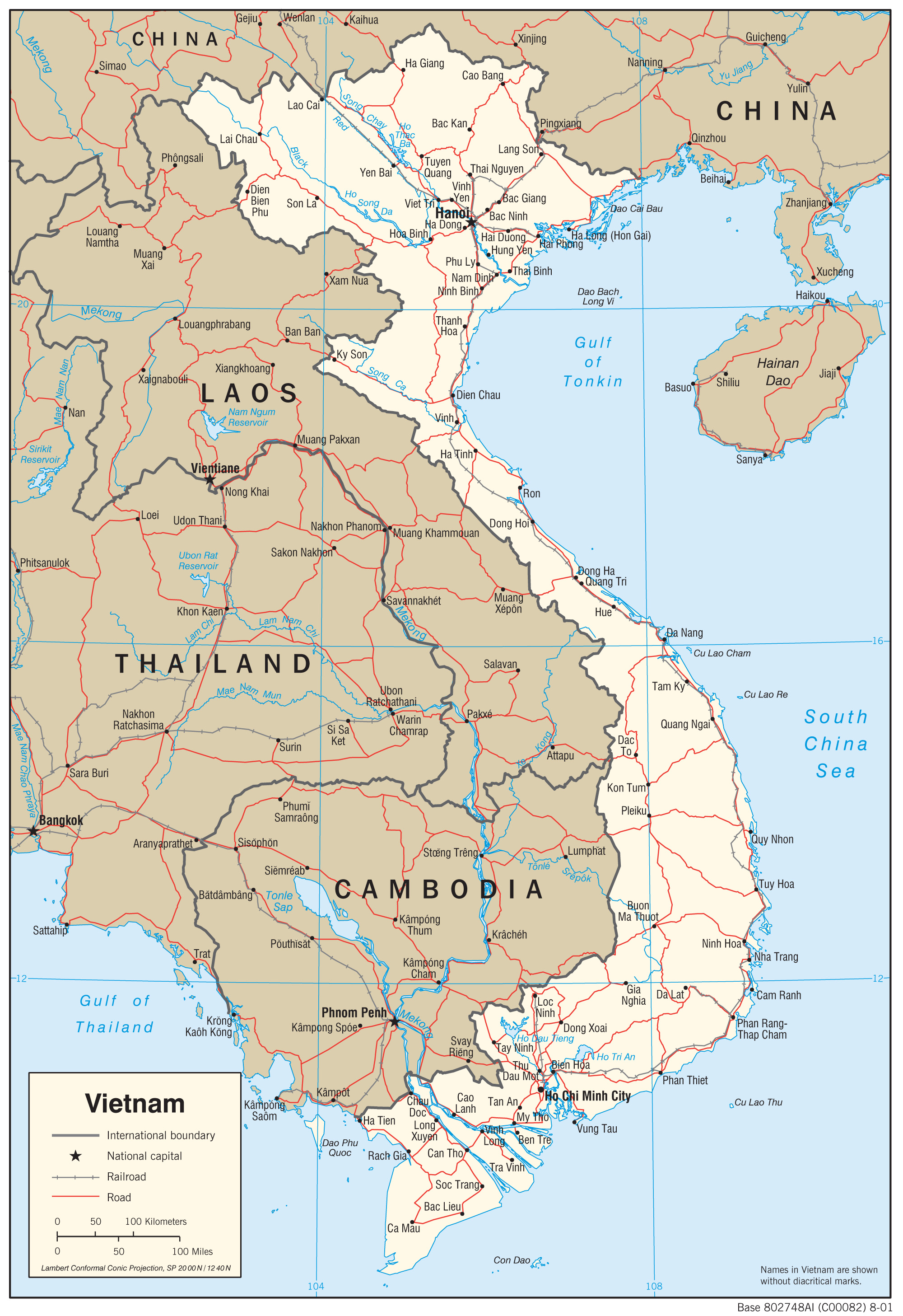 Vietnam Maps - Perry-Castañeda Map Collection - UT Library Online