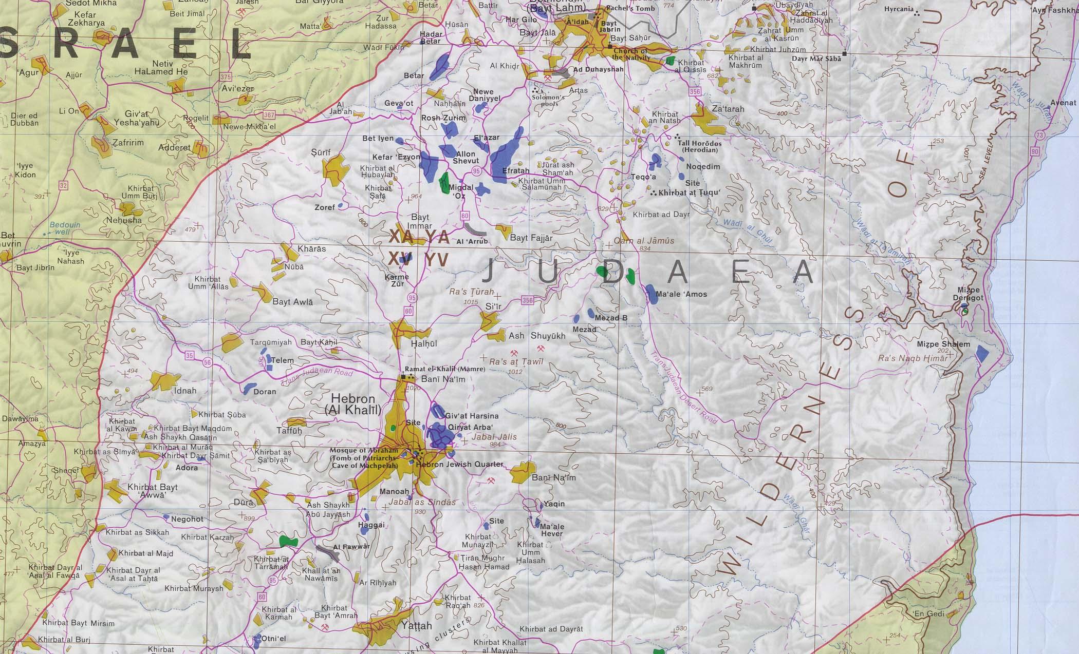 Jerusalem Karte Deutsch.Landkarten Israel Weitere Karten Weltkarte Com Karten Und