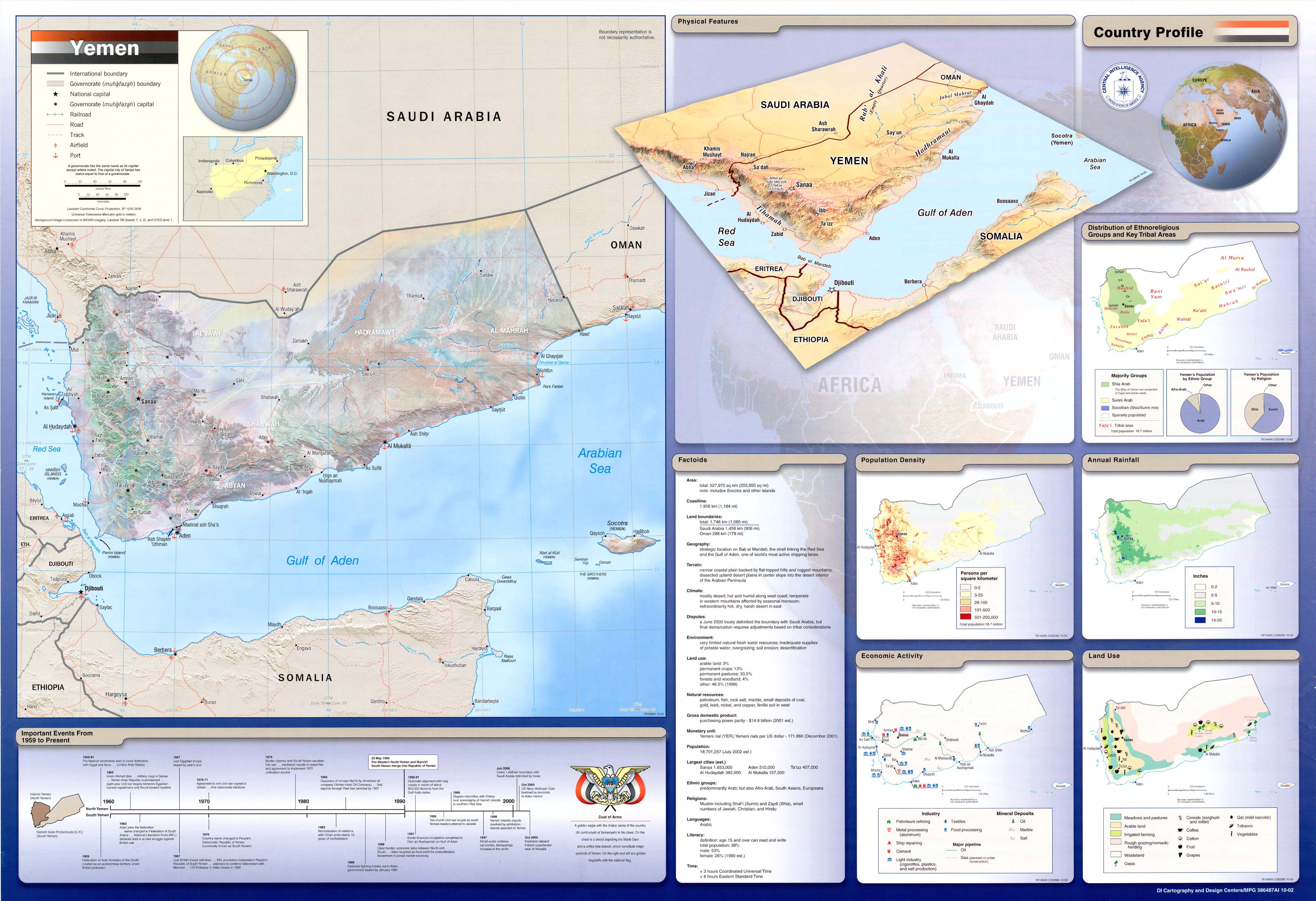 Yemen maps perry castaeda map collection ut library online map collection gumiabroncs Images