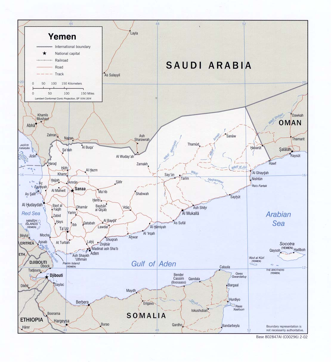 Political Map Of Yemen.Yemen Maps Perry Castaneda Map Collection Ut Library Online