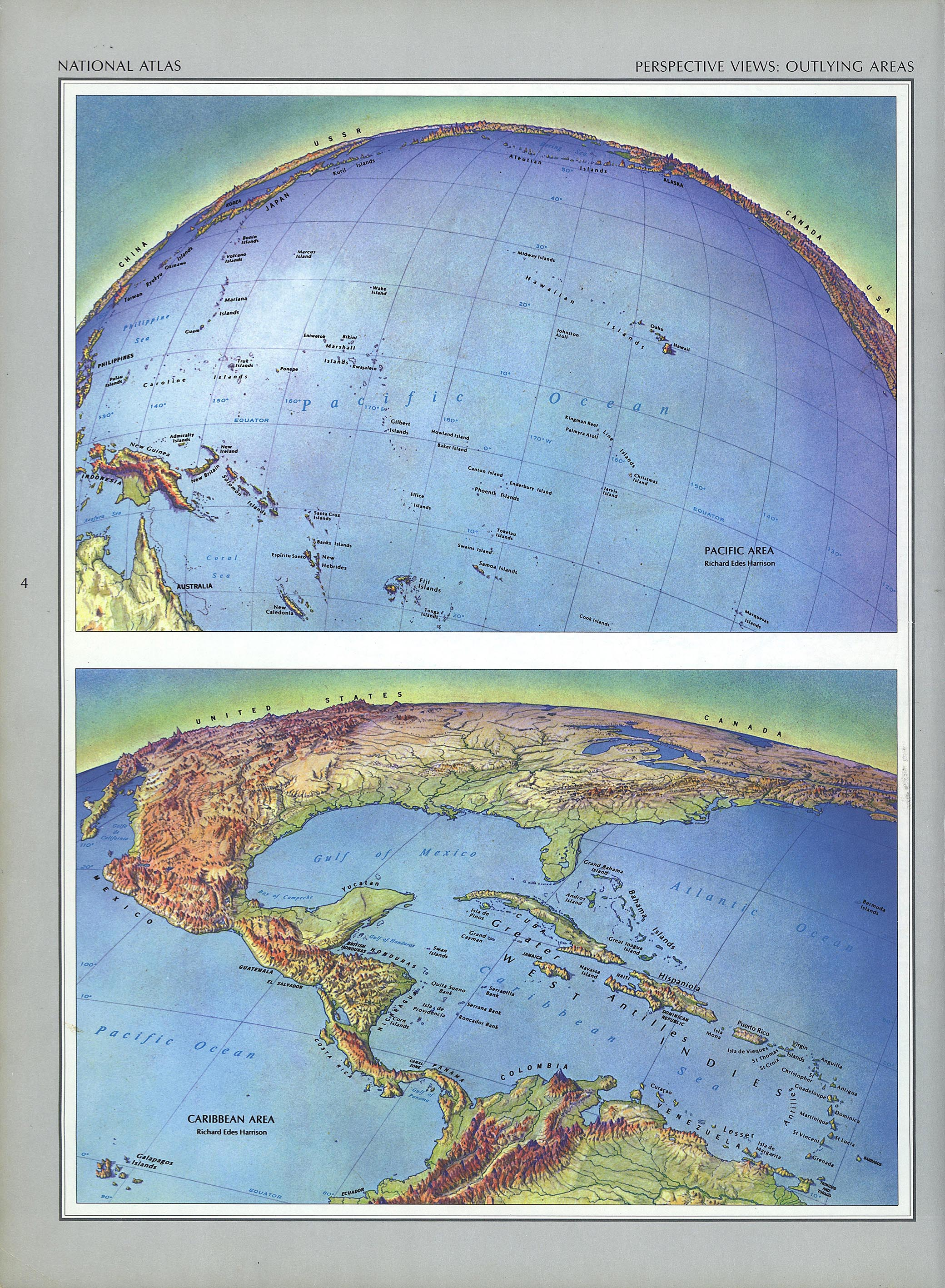 The National Atlas Of The United States Of America Perry Castaneda Map Collection Ut Library Online