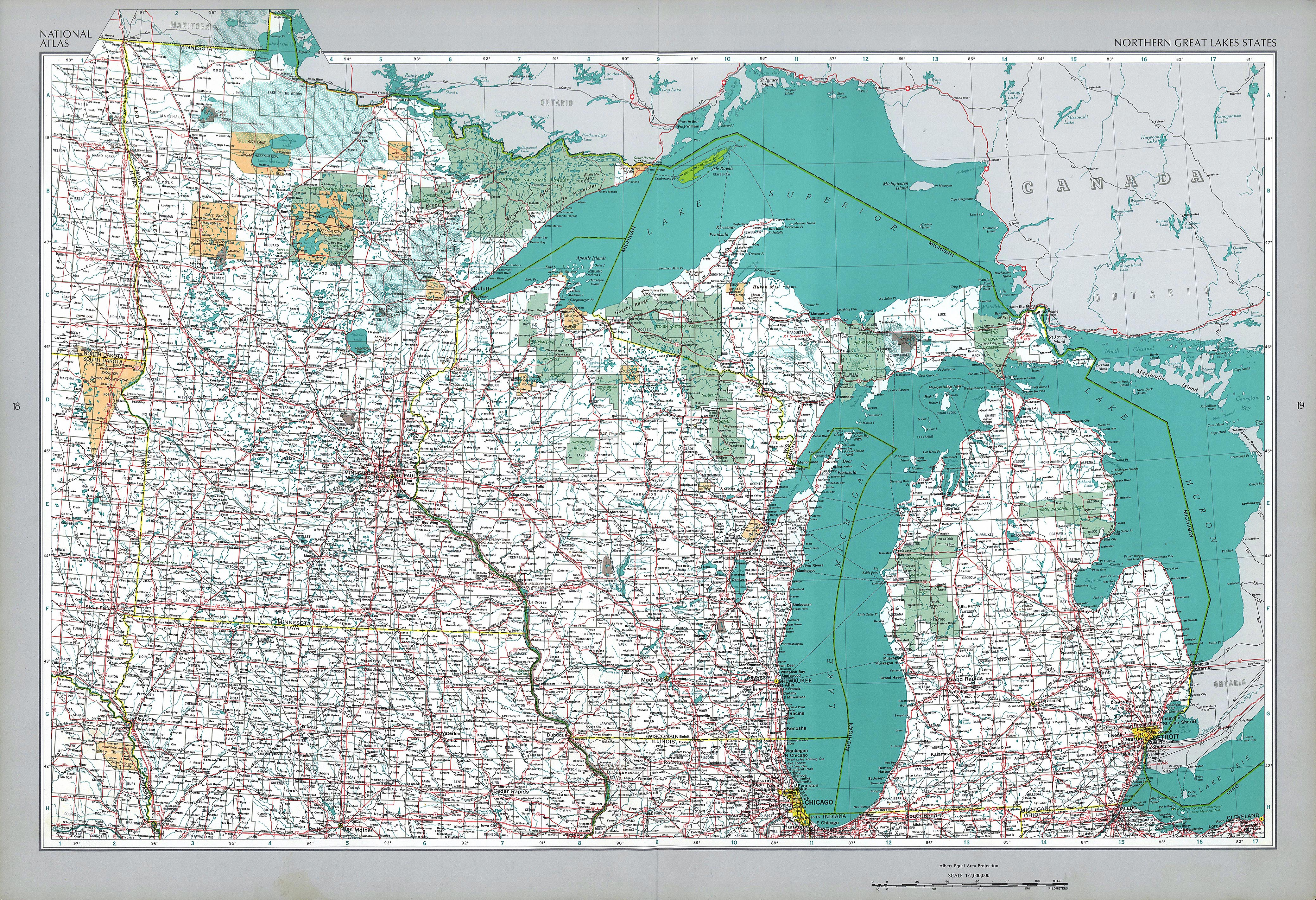Northern Great Lakes States