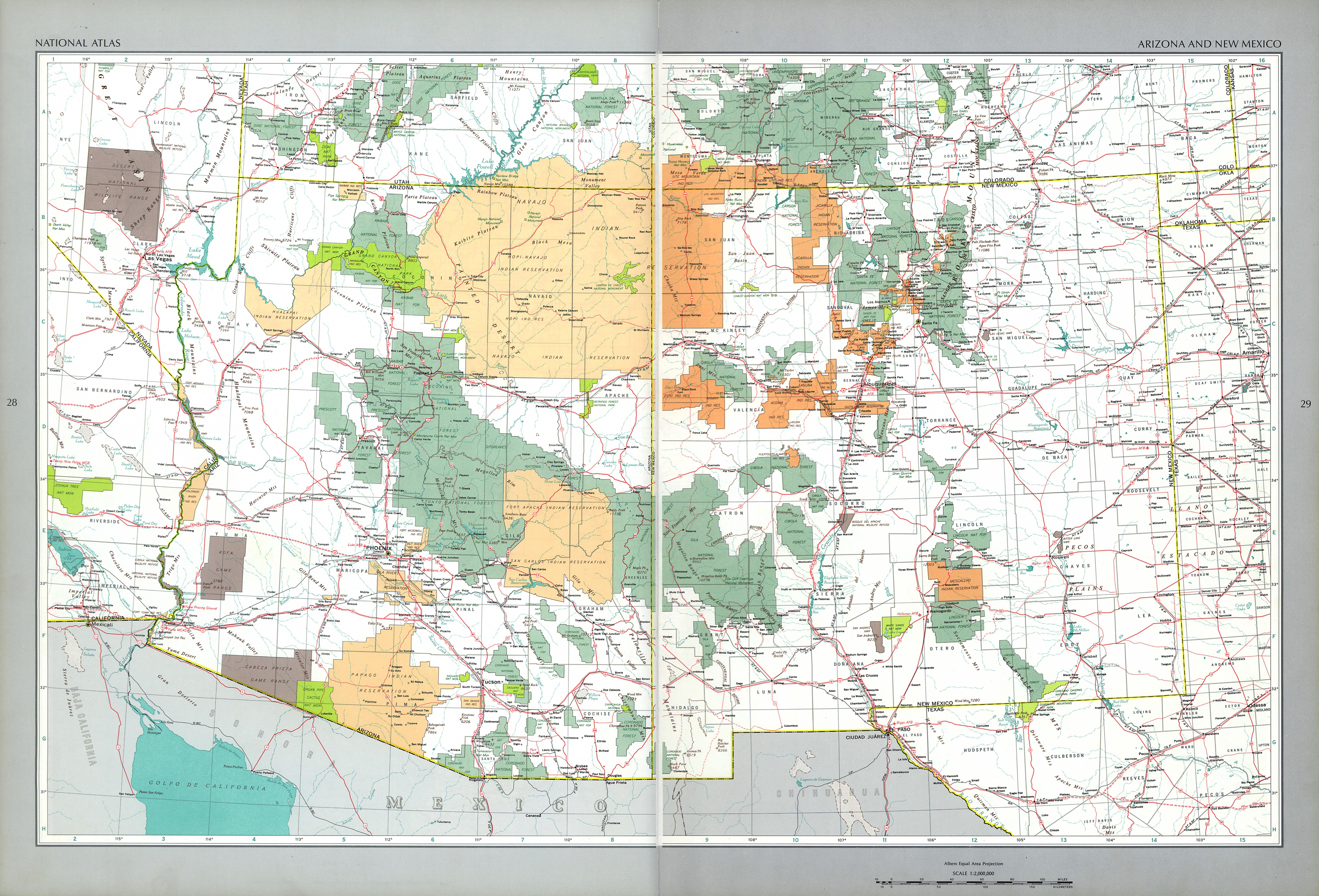 The national atlas of the united states of america perry castaeda the national atlas of the united states of america 1970 gumiabroncs Image collections