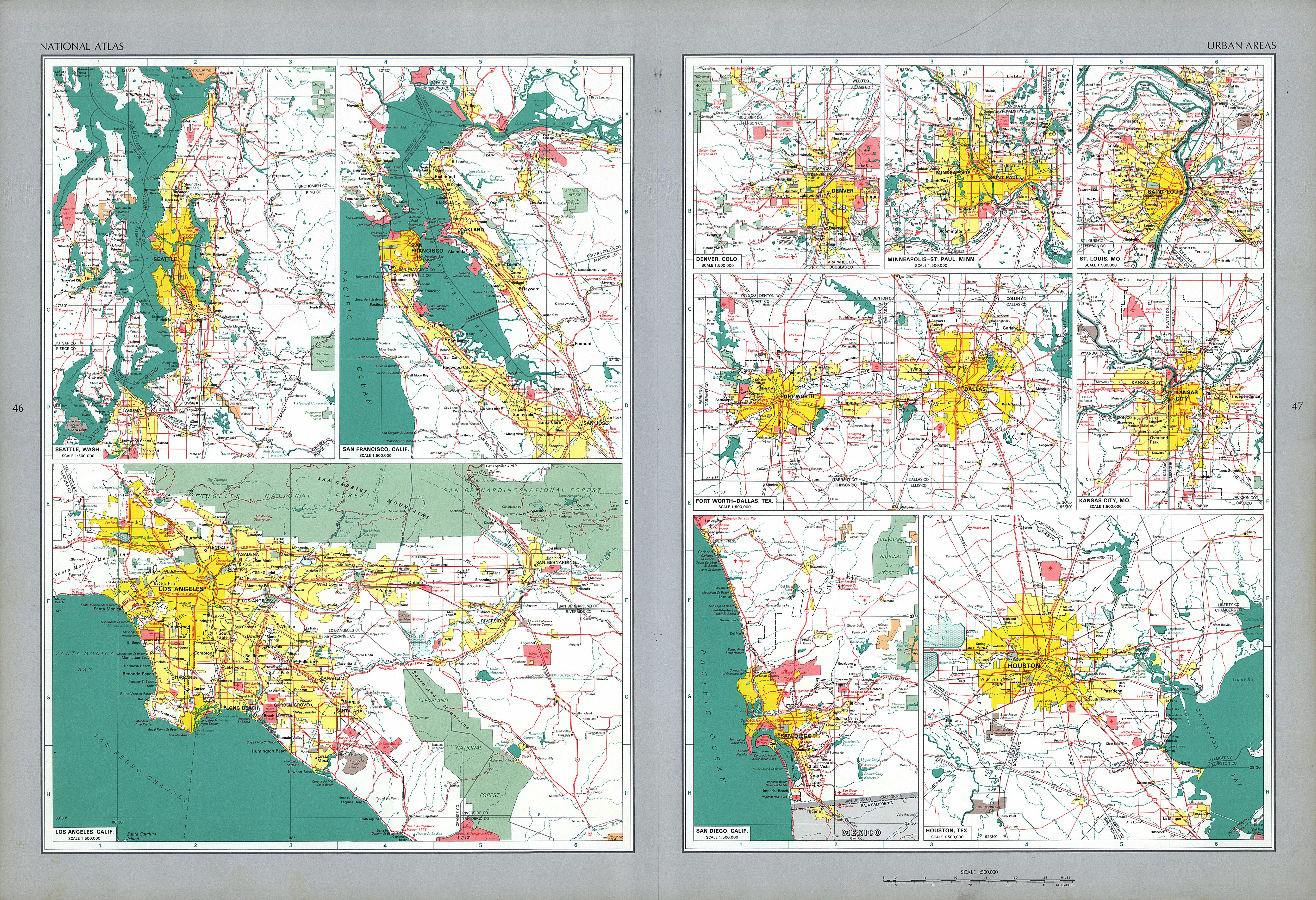 the national atlas of the united states of america
