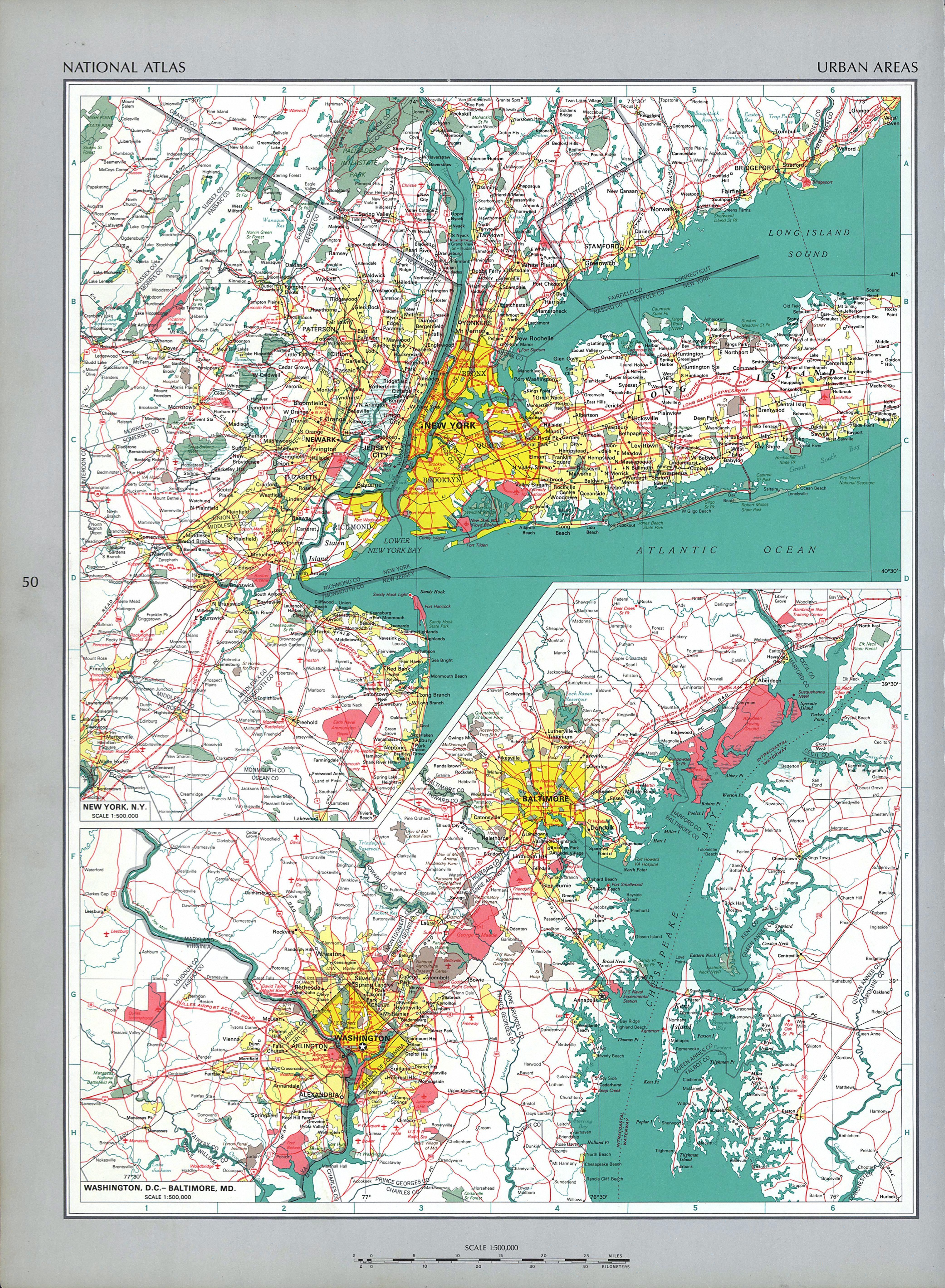 The National Atlas Of The United States Of America Perry - Maps of united states of america
