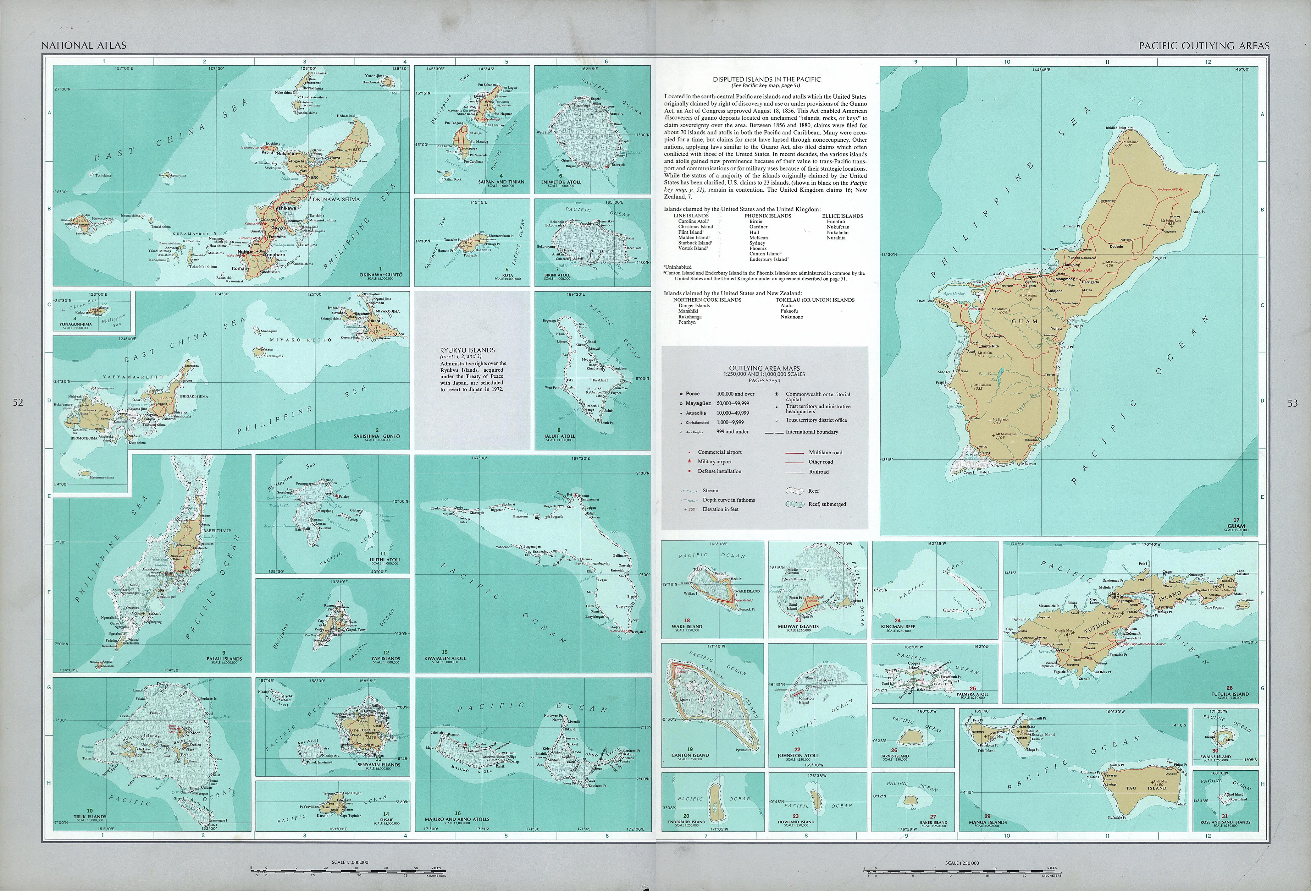 The National Atlas of the United States of America- Perry-Castañeda on