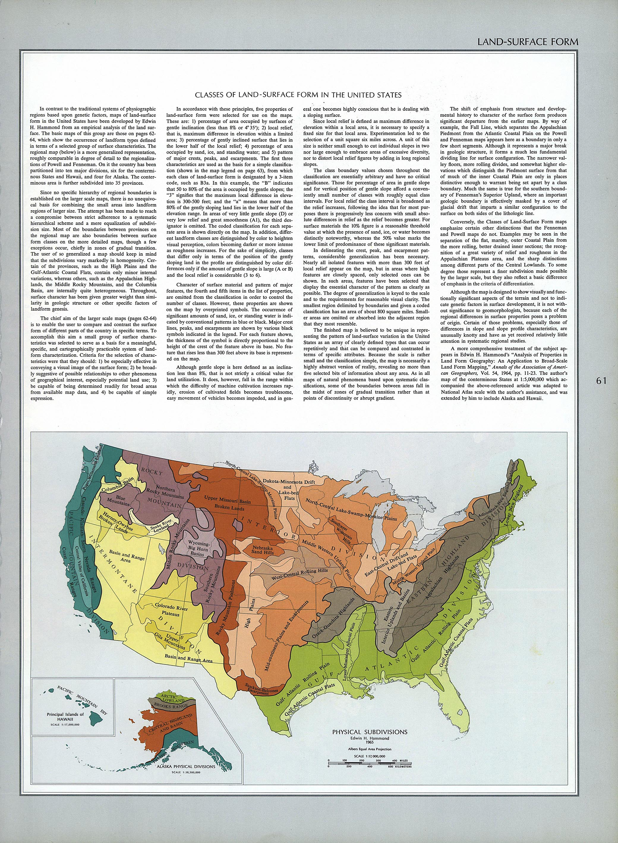 The National Atlas Of The United States Of America Perry - World religion map by national subdivision
