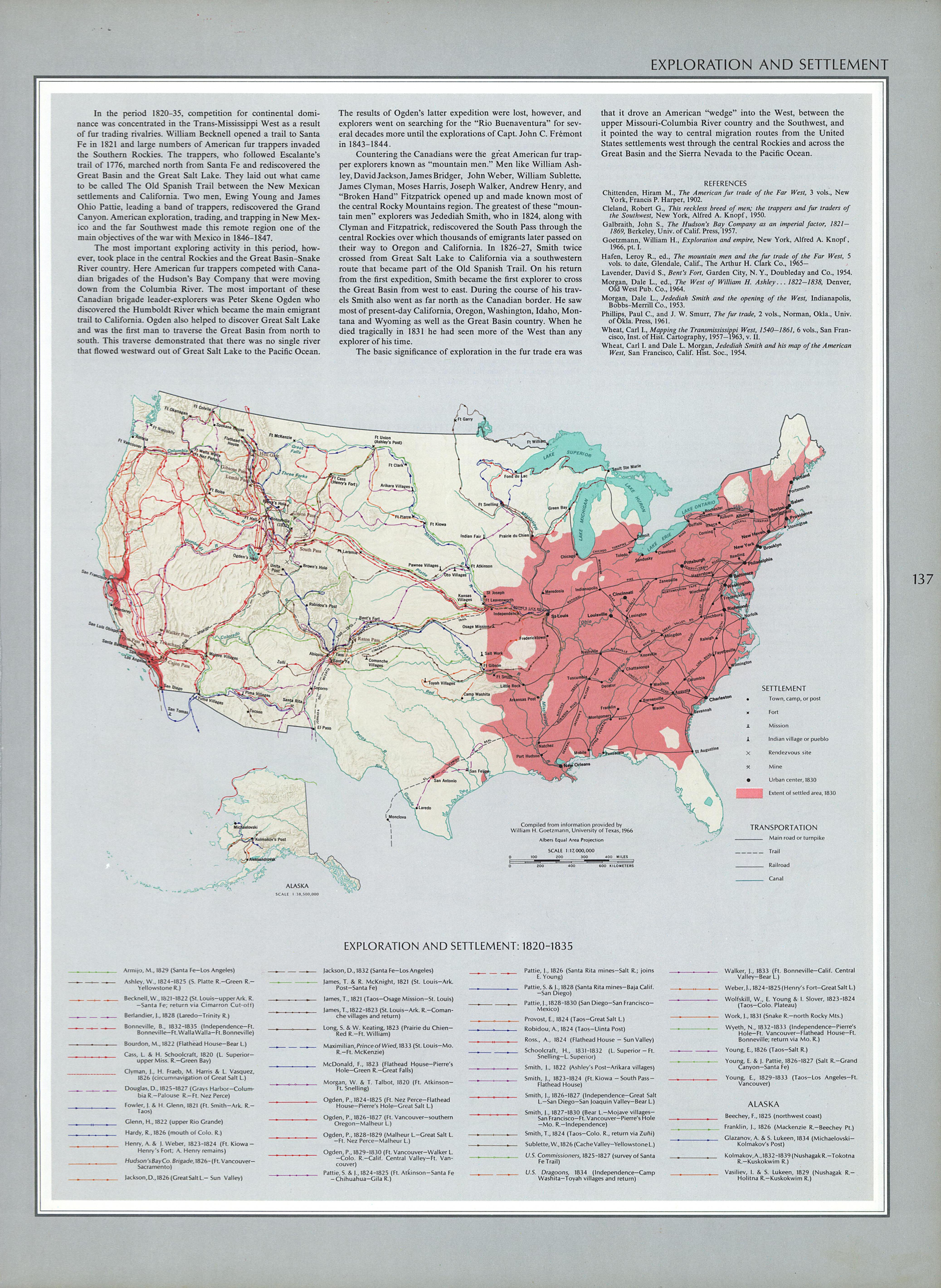 Documents For The Study Of American History US History AMDOCS - Us population map 1797