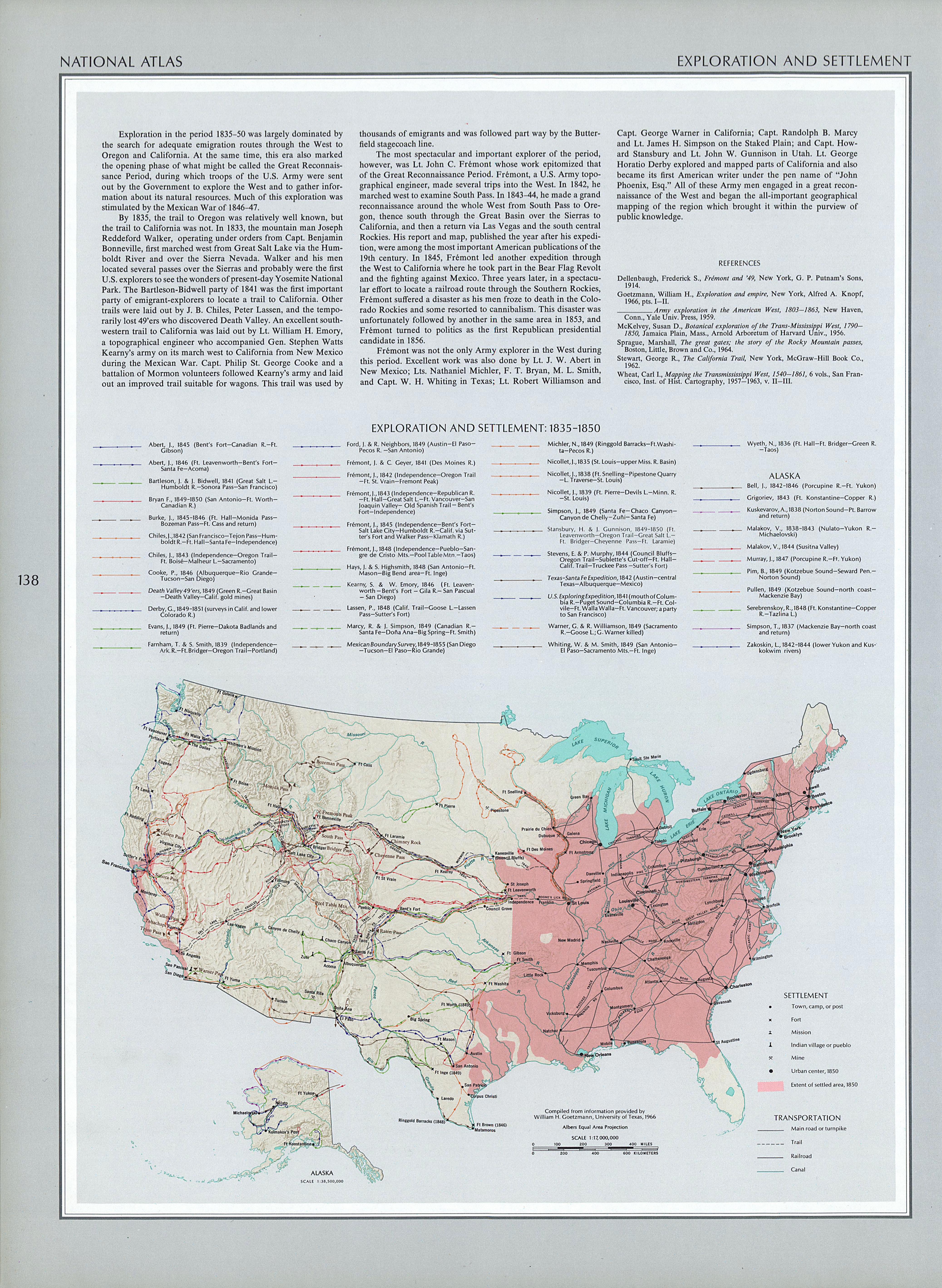 The United States In Map ThingLink File Tallis Map - Map of us railroads in 1850