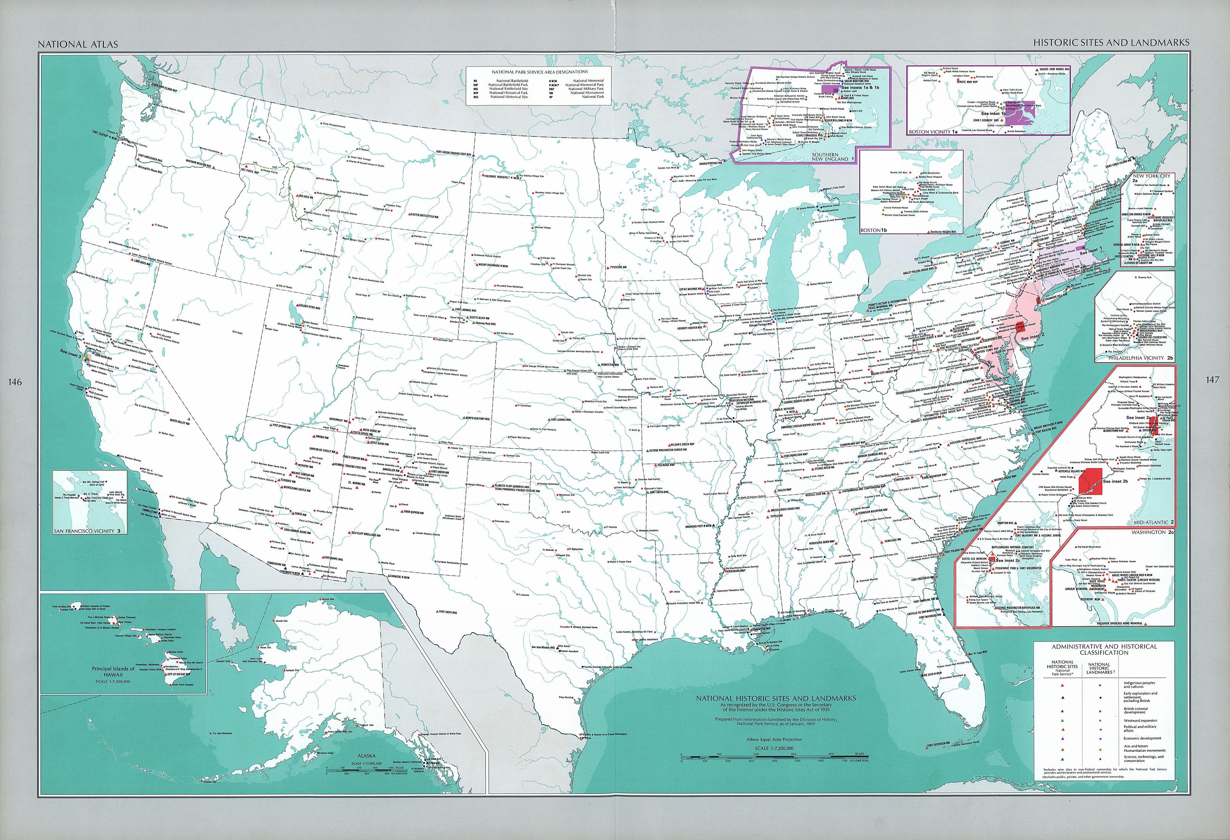 United States Map Landmarks