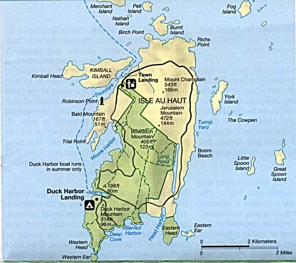 United States National Parks And Monuments Maps PerryCastañeda - Acadia national park on the map of the us