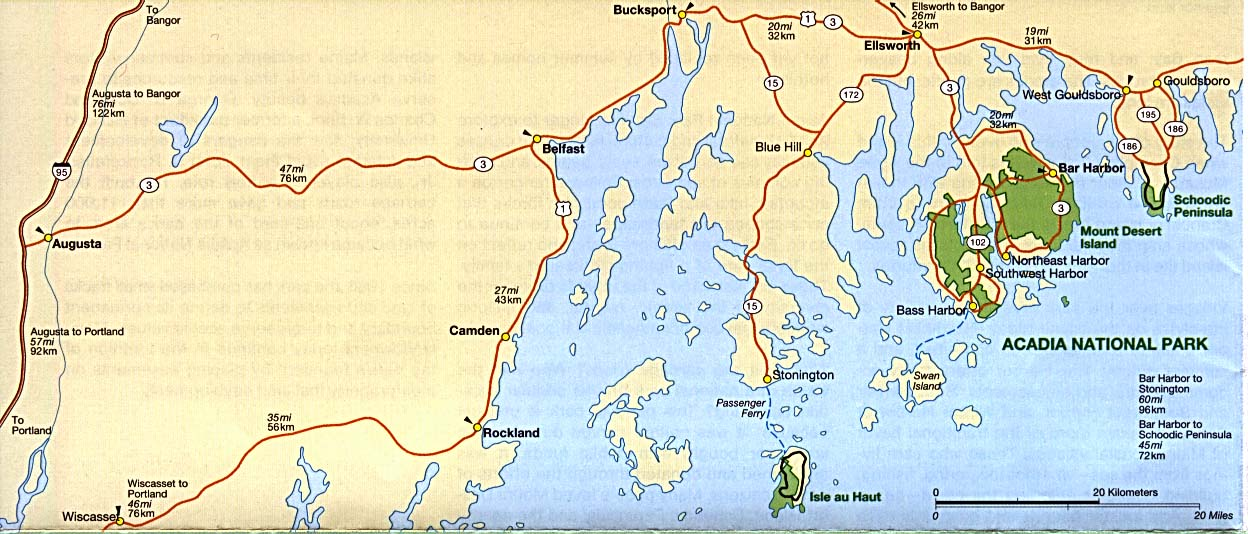Maine Maps PerryCastañeda Map Collection UT Library Online - Maine in usa map