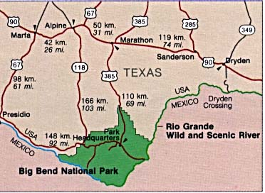 Texas State And National Park Maps PerryCastañeda Map - Texas national parks