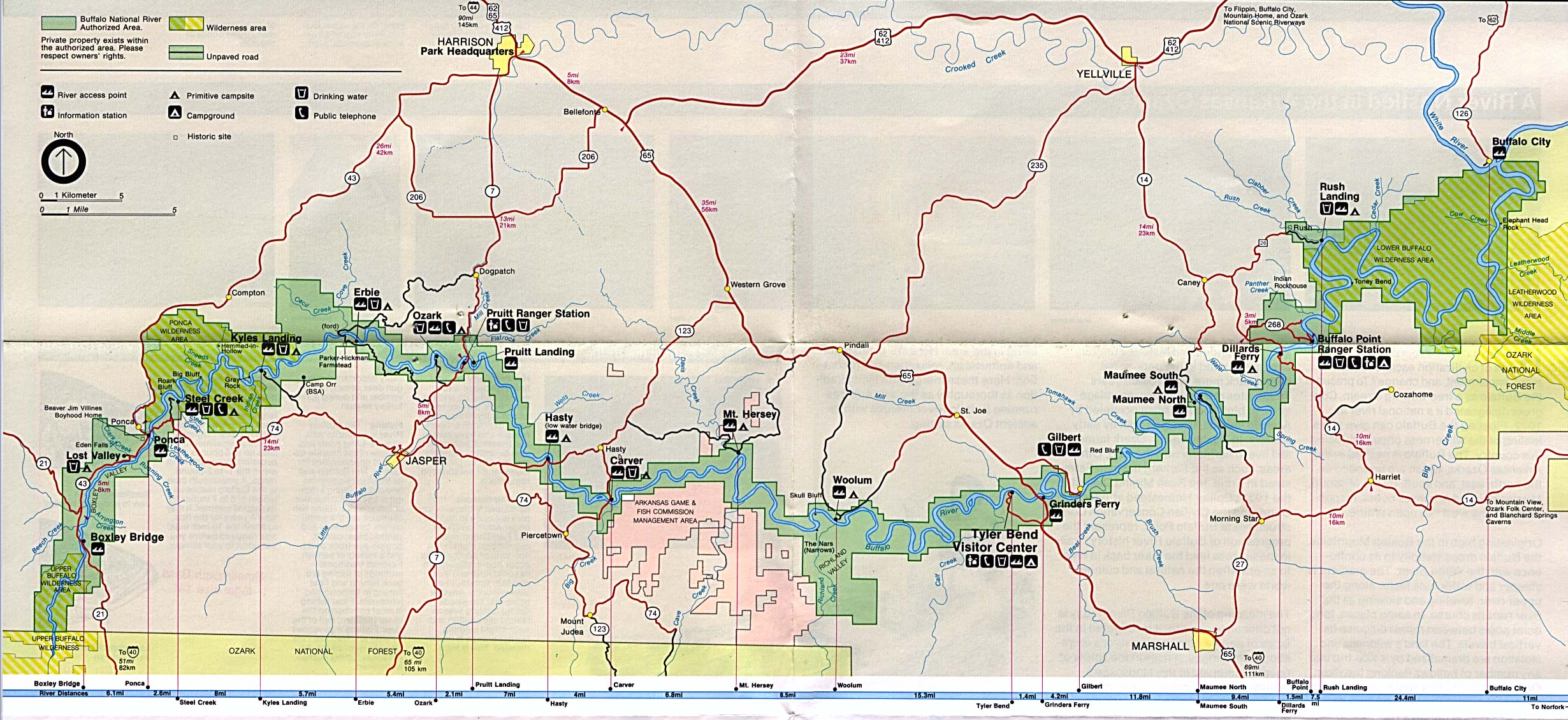 United States National Parks And Monuments Maps PerryCastañeda - Map of usa with cities pdf