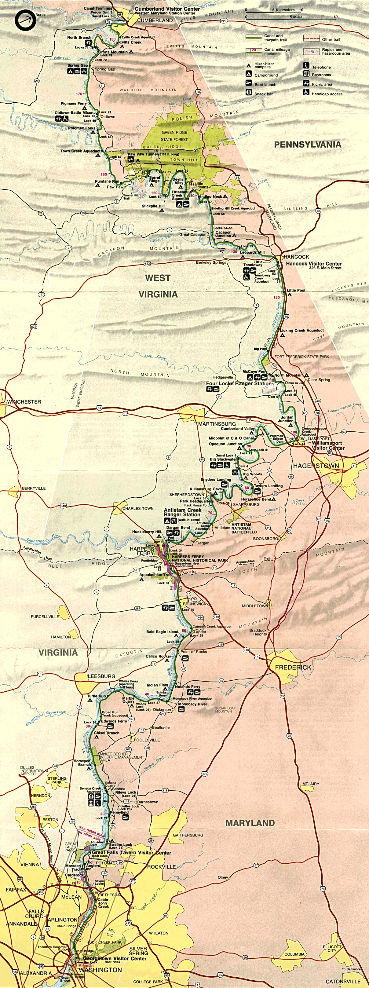 West Virginia Maps PerryCastaeda Map Collection UT Library Online
