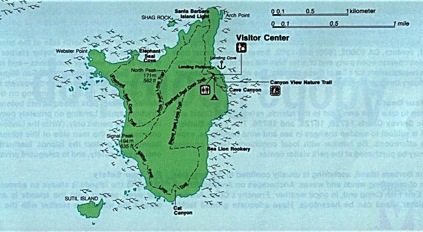Channel Islands National Park Santa Barbara Island California