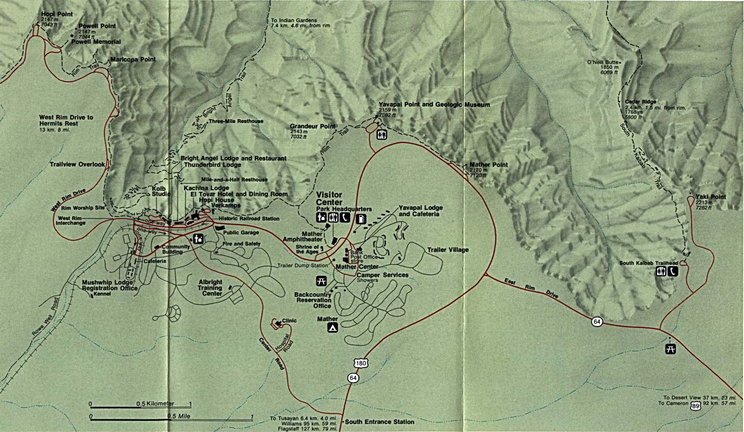 Arizona Maps PerryCastañeda Map Collection UT Library Online - Southwest us topographic map