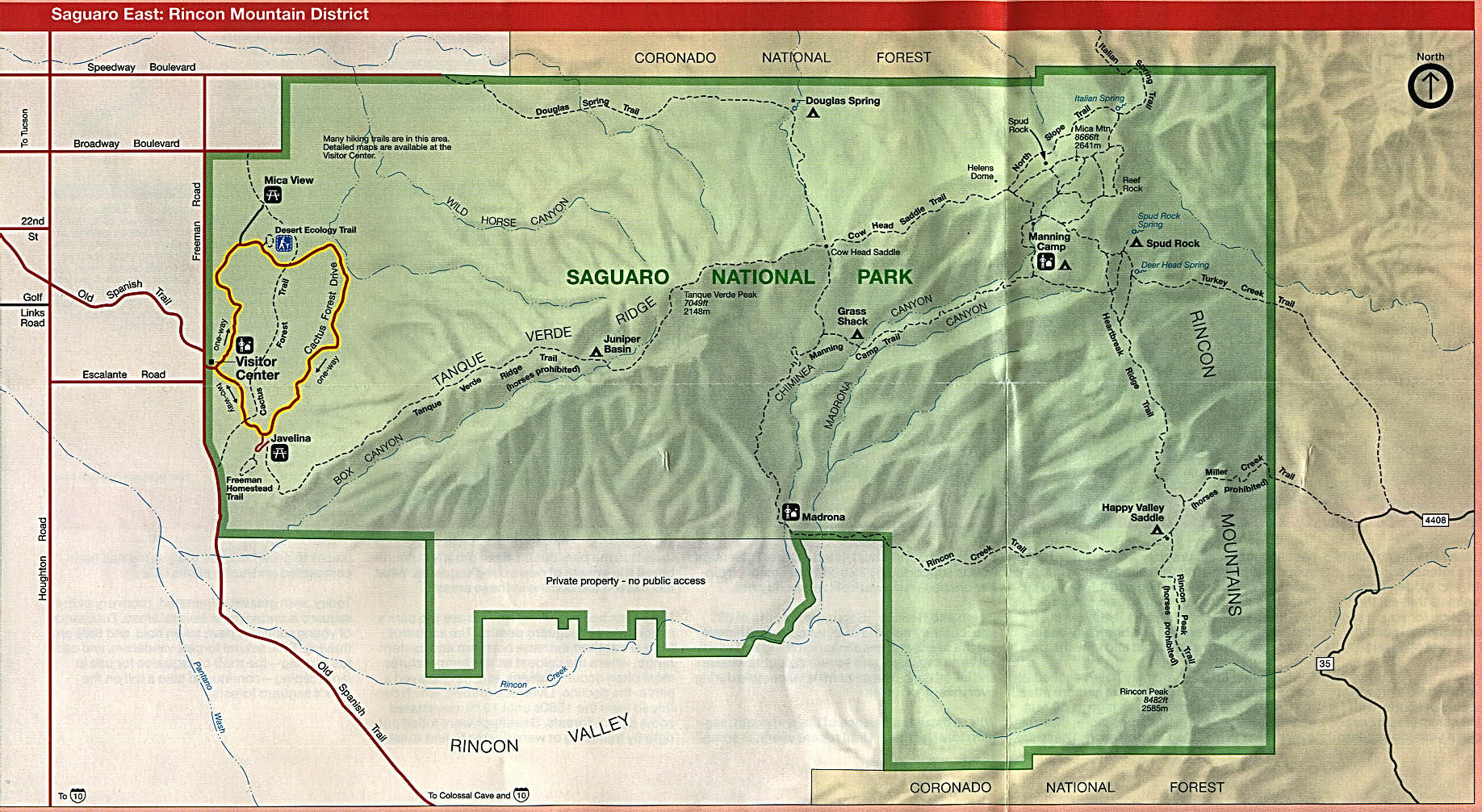 Arizona Maps PerryCastañeda Map Collection UT Library Online - Map us southwest national parks