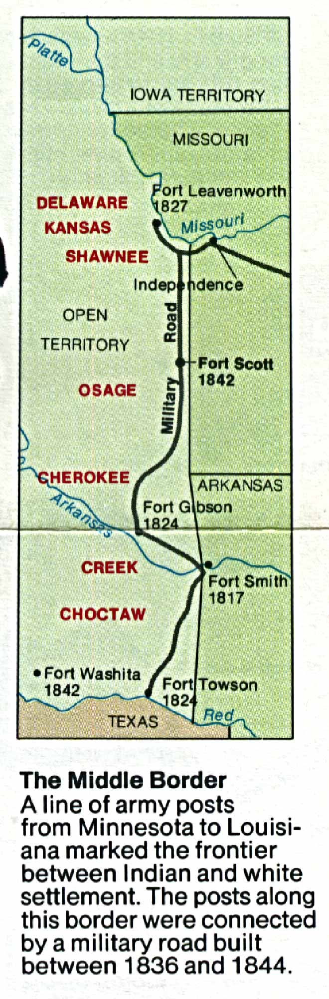 Maps of United States National Parks, Monuments and Historic Sites Fort Scott National Historic Site [Kansas] (Area Map) 1993 (273K)