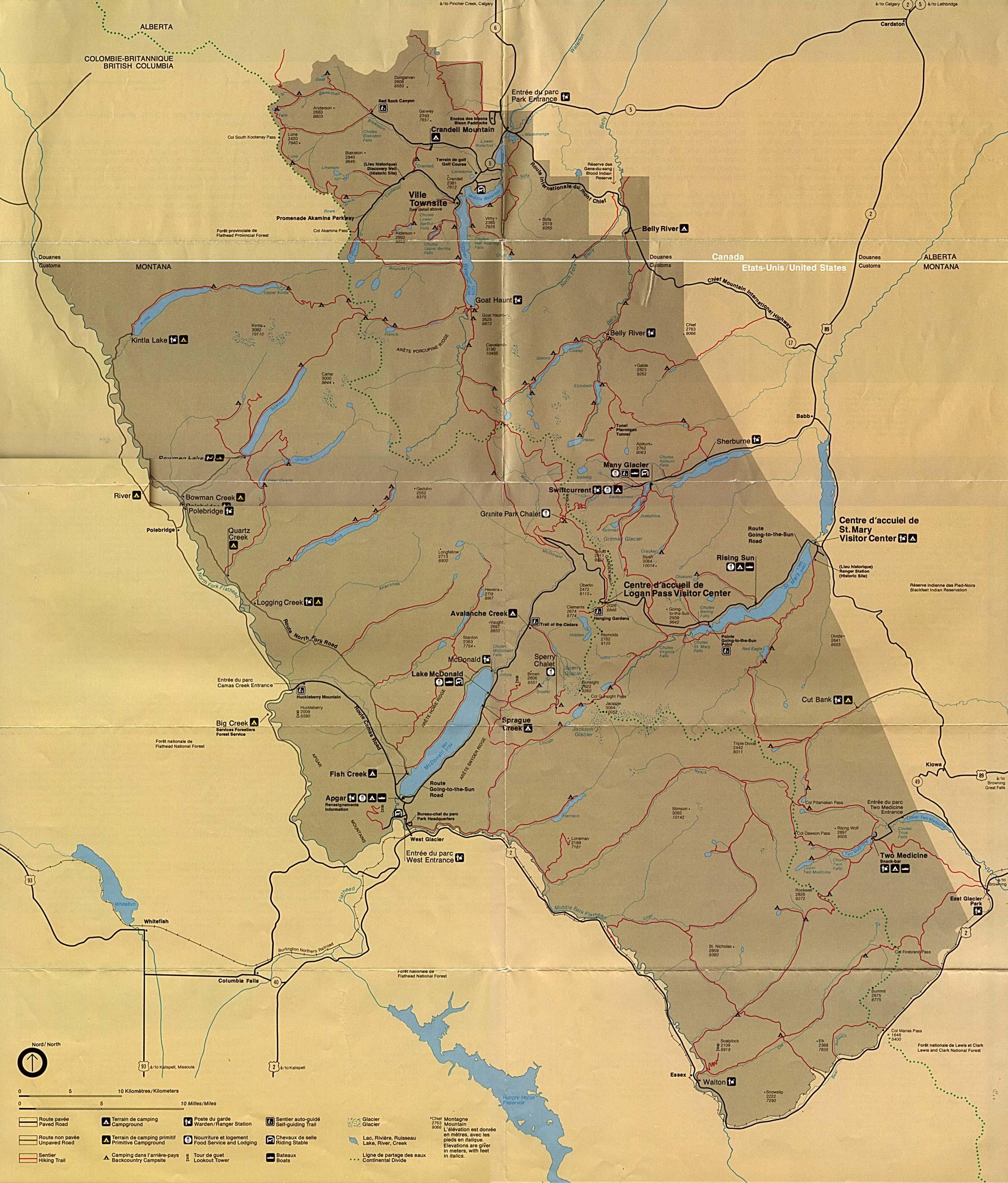 1Up Travel - Maps of United States (U.S) National Parks ...