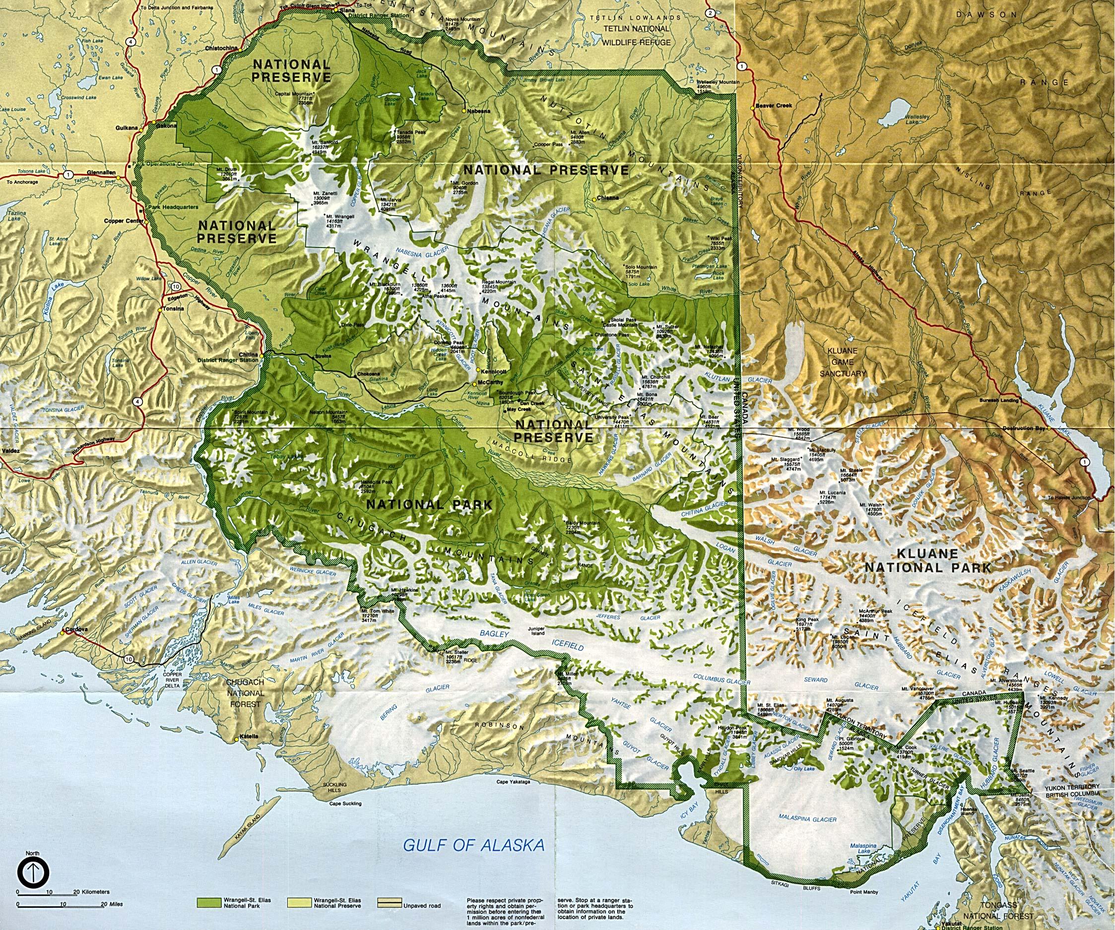 Map of Alaska A Source for All Kinds of Maps of Alaska