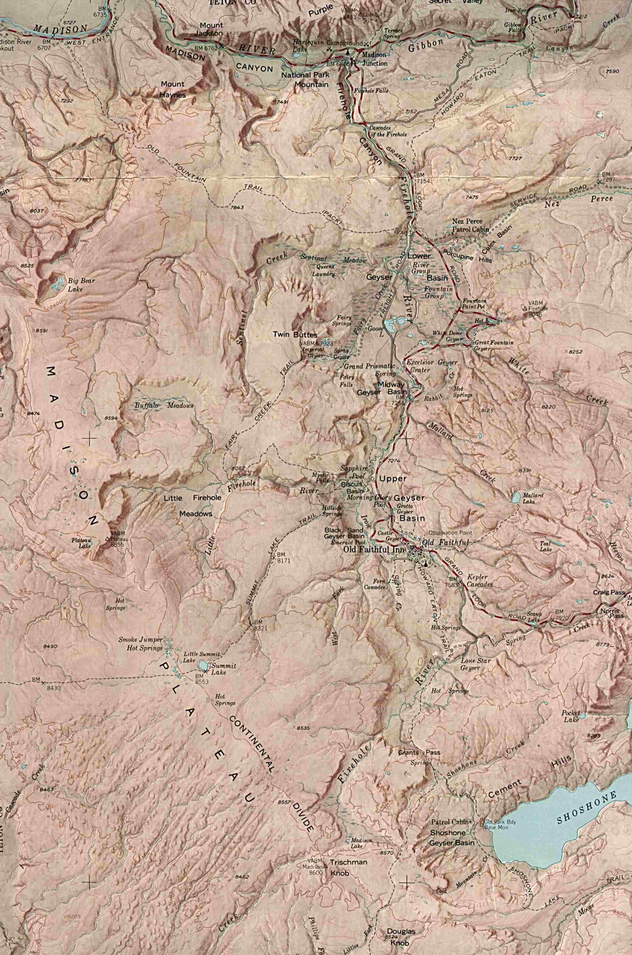 Idaho Maps - Perry-Castañeda Map Collection - UT Library Online