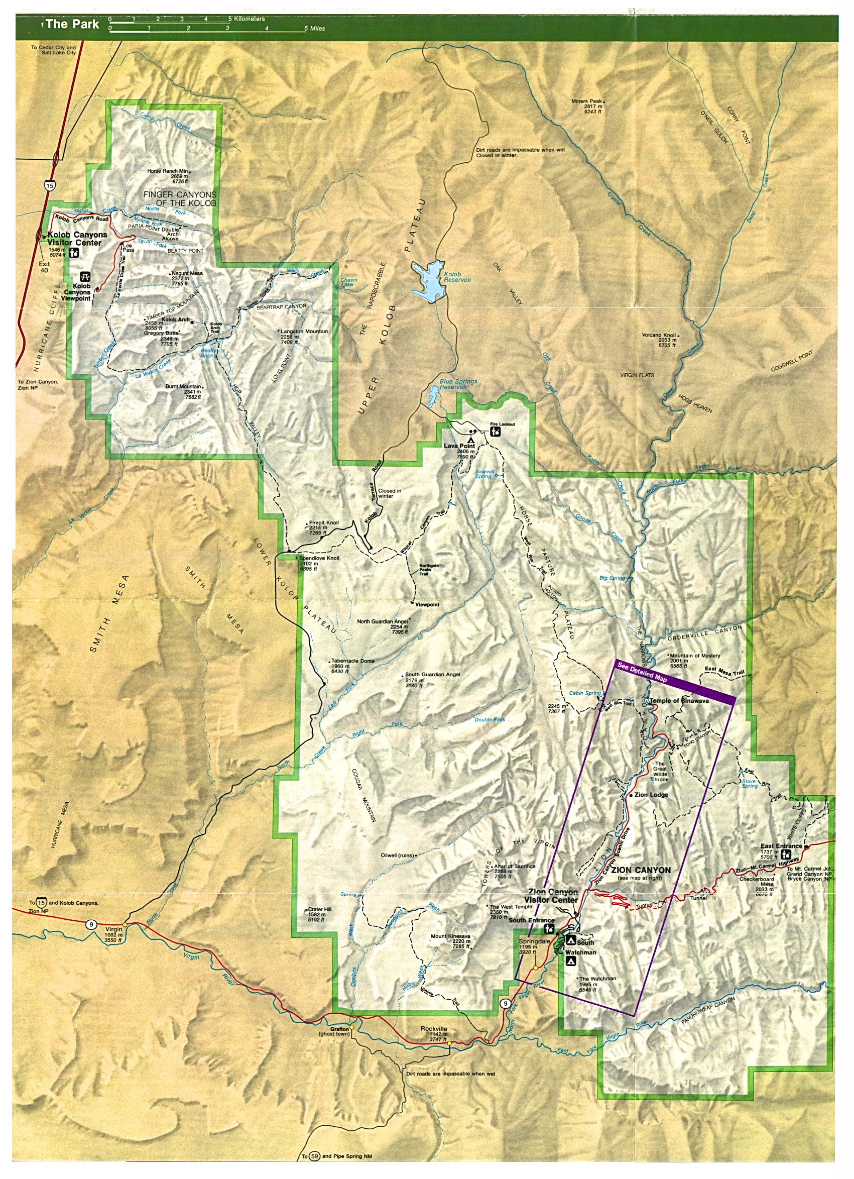 Utah Maps PerryCastañeda Map Collection UT Library Online - Us canyons boundary map