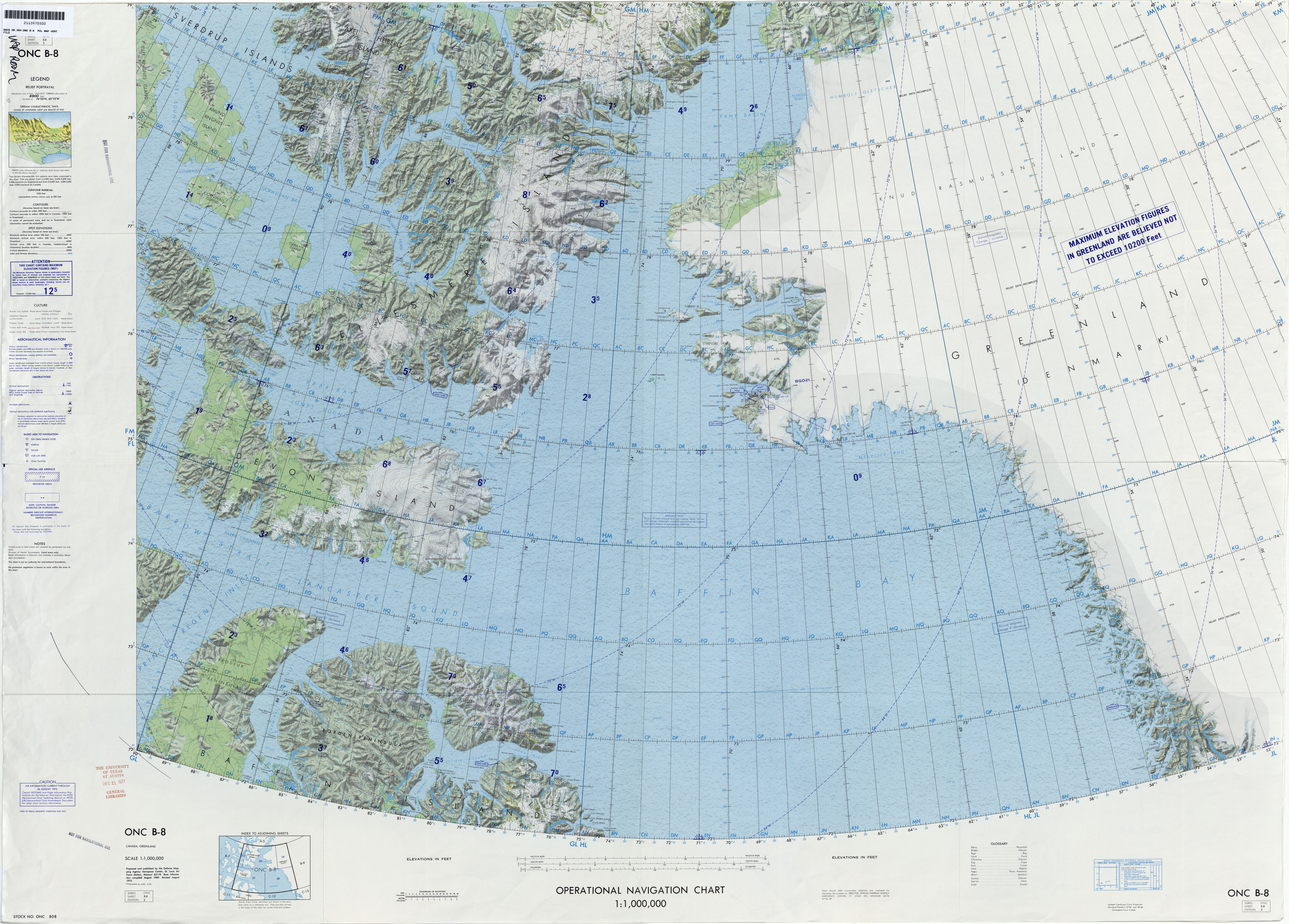 Operational navigation charts perry castaeda map collection ut operational navigation chart series world gumiabroncs Image collections