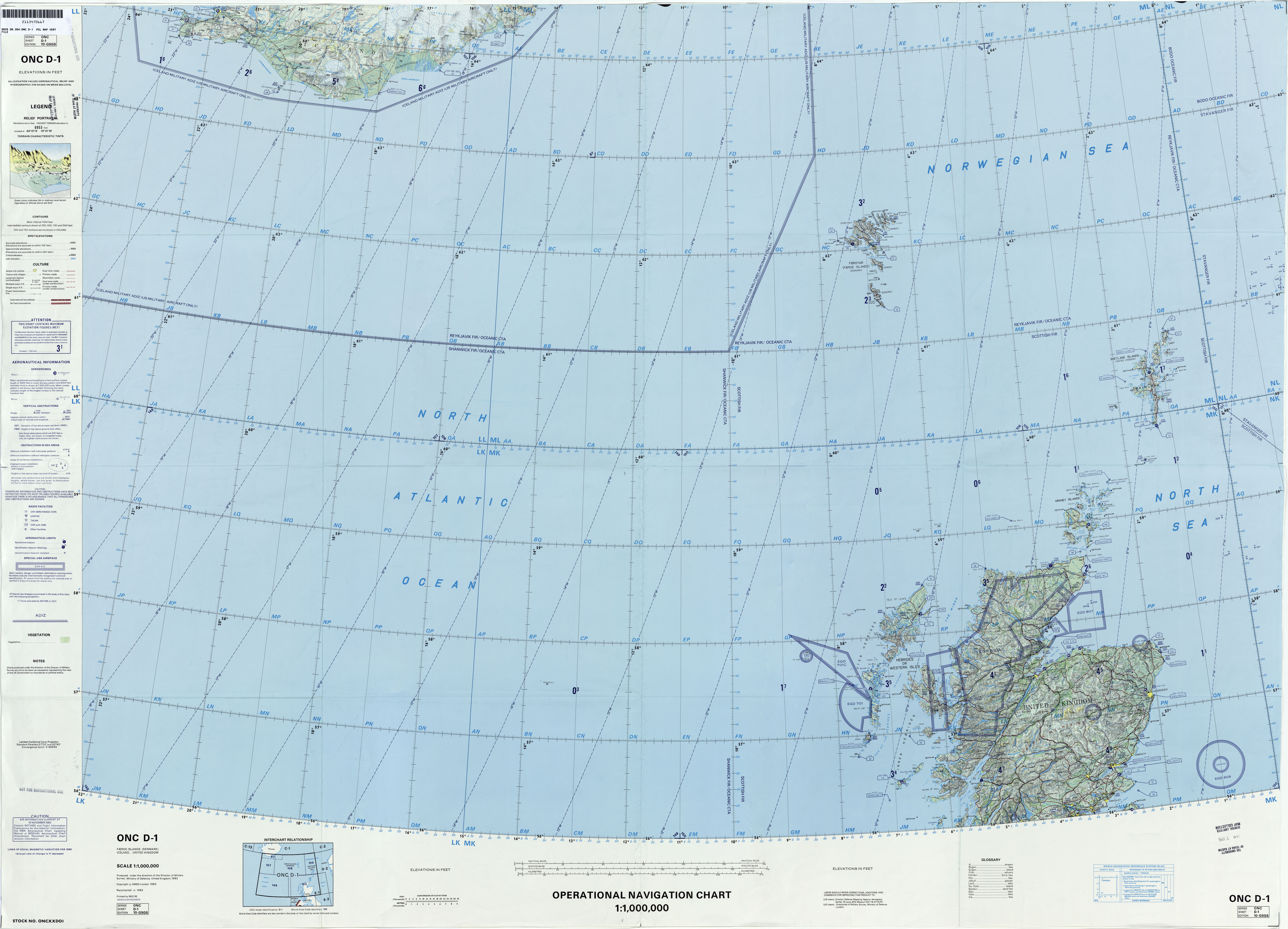 Operational Navigation Charts - Perry-Castañeda Map Collection - UT on