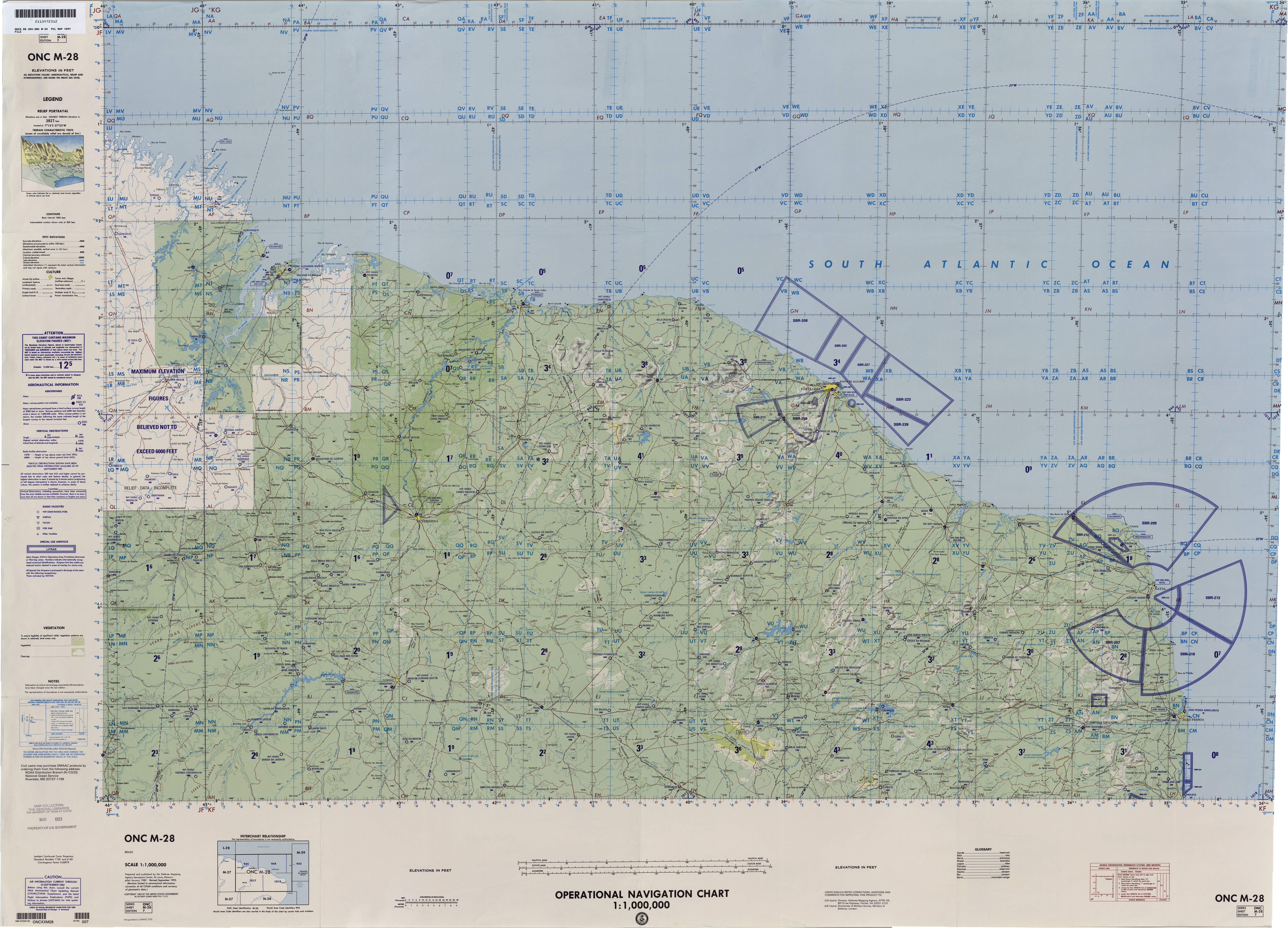 u s defense mapping agency 10mb not for navigational use