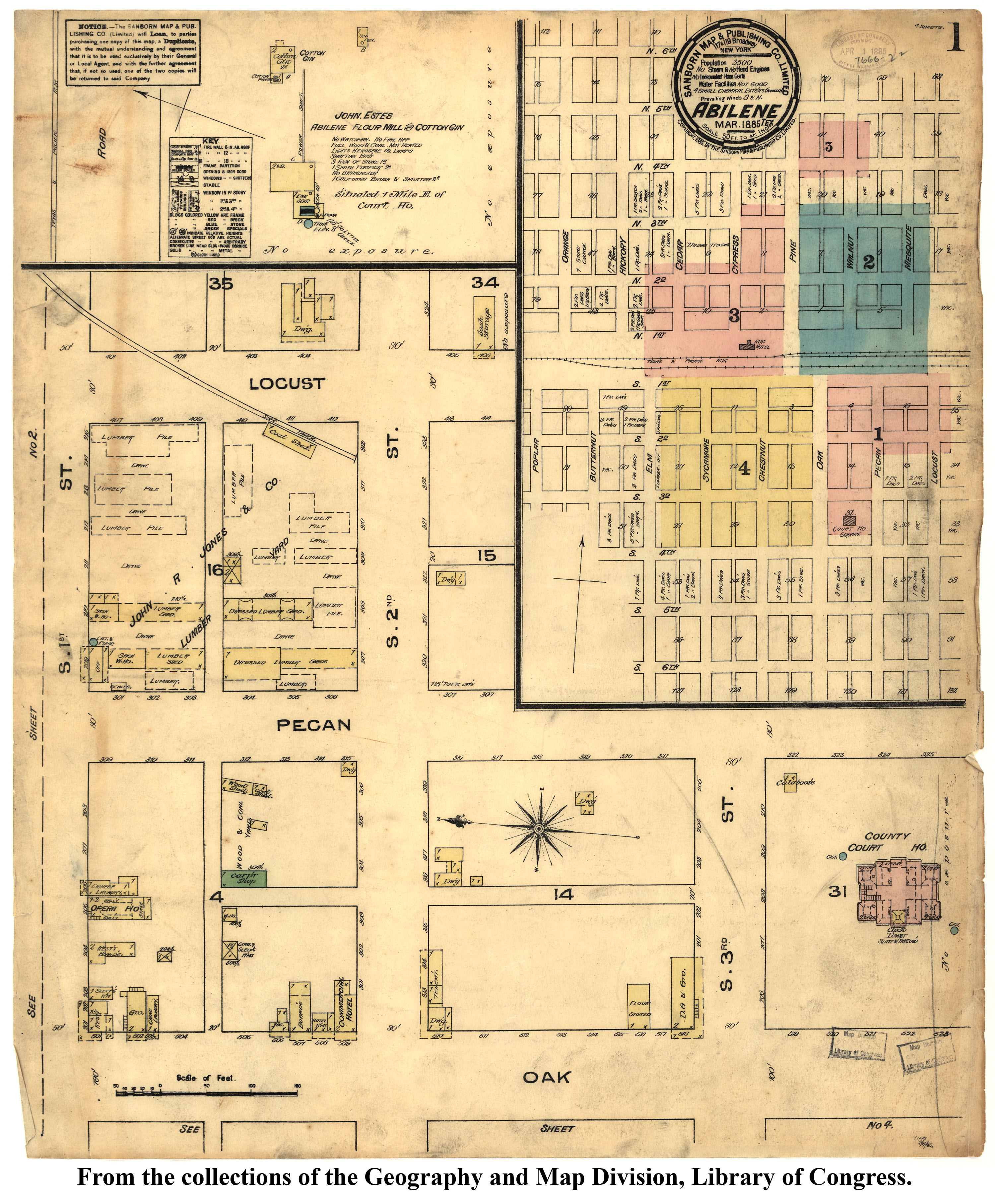 Sanborn Maps of Texas PerryCastaeda Map Collection UT Library