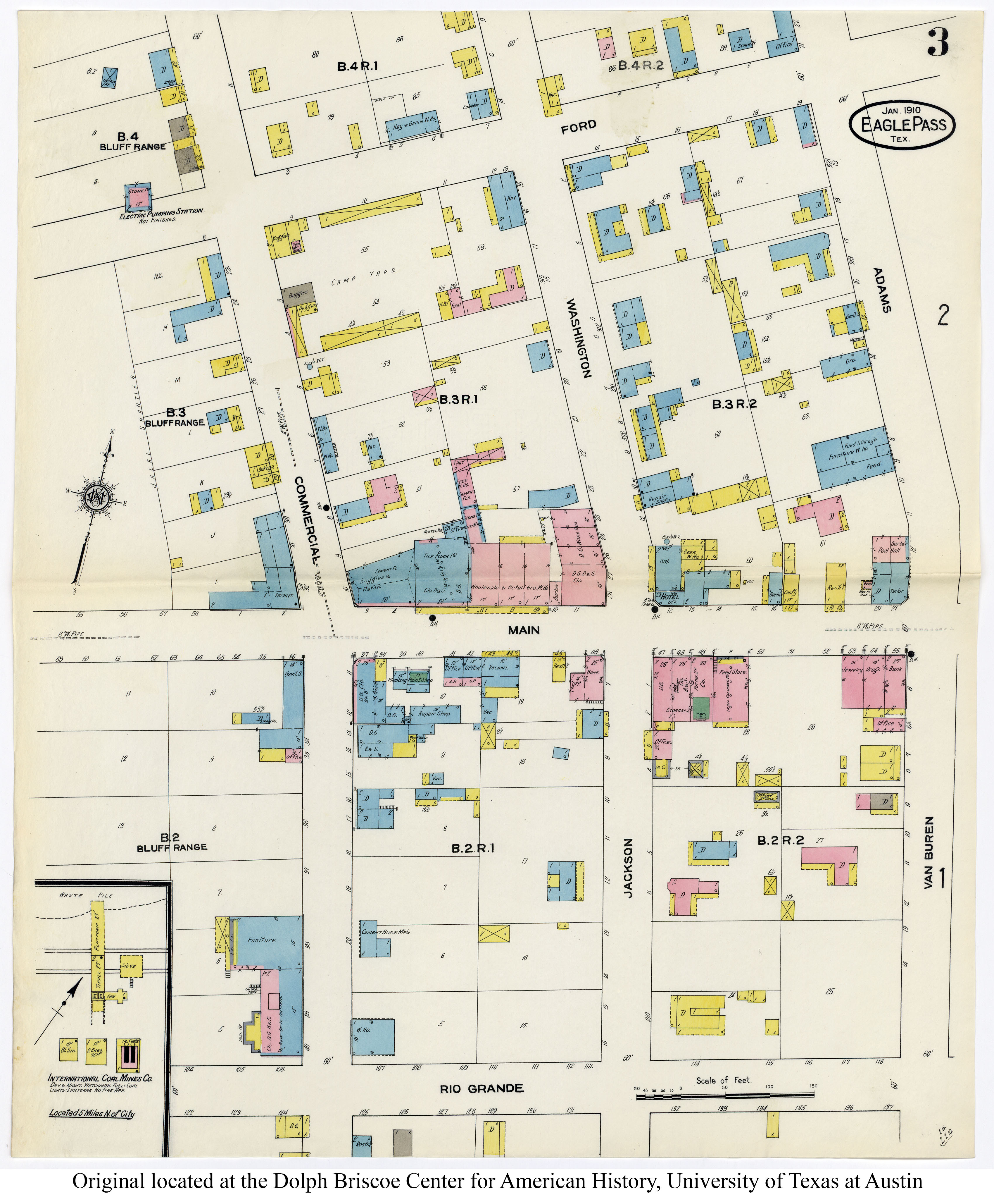 Sanborn Maps Of Texas Perry Castaneda Map Collection Ut Library