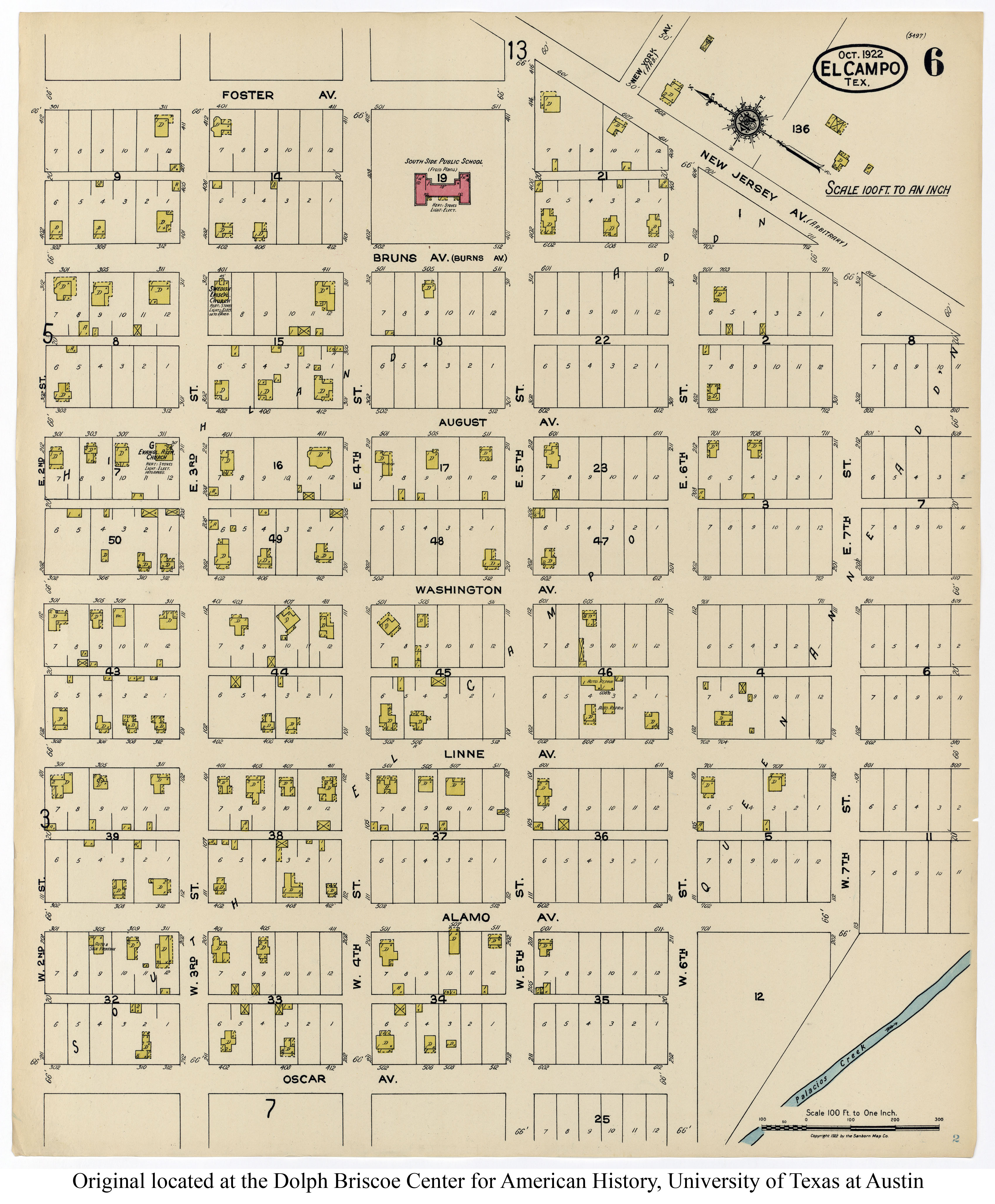Sanborn Maps of Texas - Perry-Castañeda Map Collection - UT Library ...