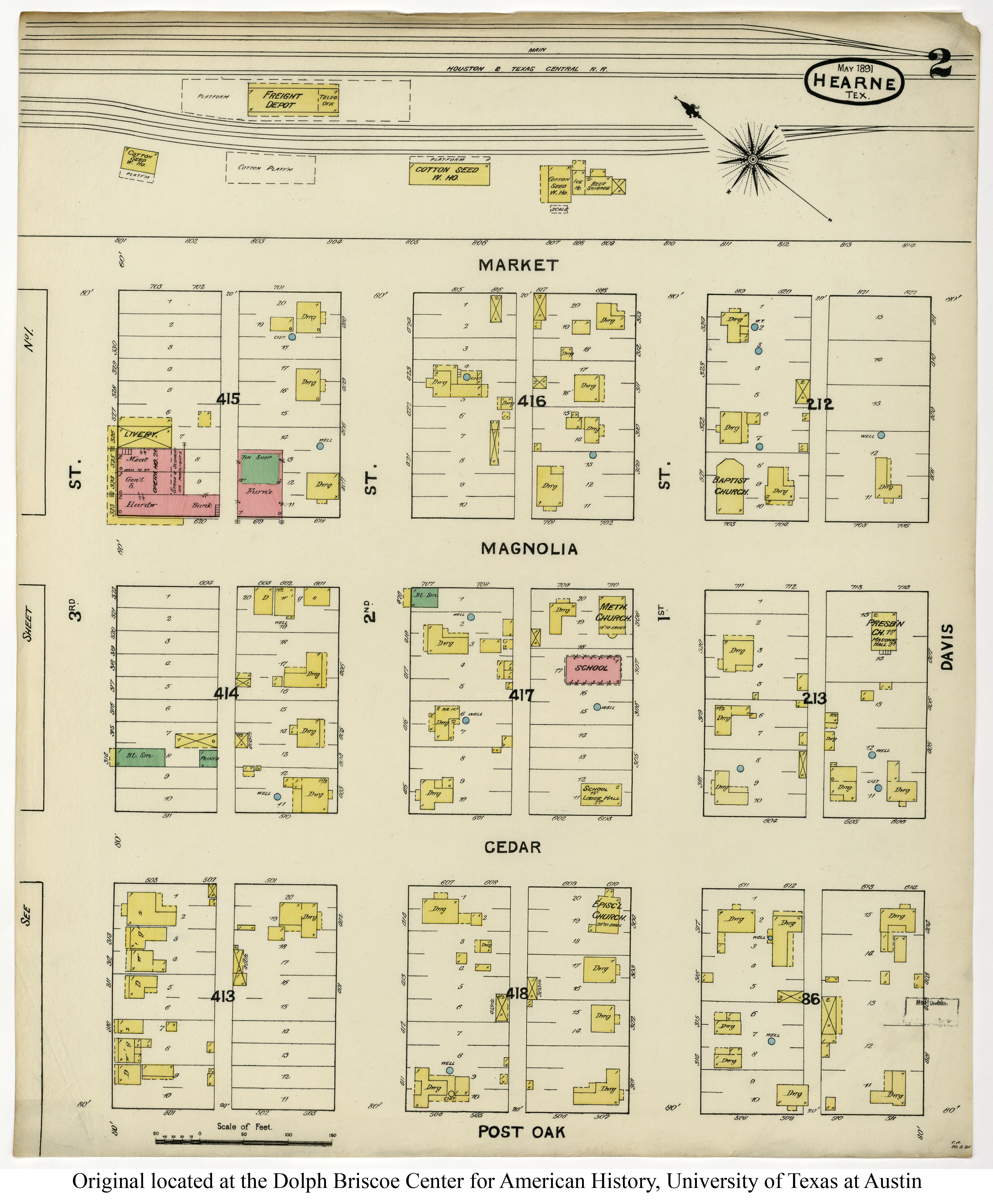 Sanborn Maps of Texas - Perry-Castañeda Map Collection - UT Library