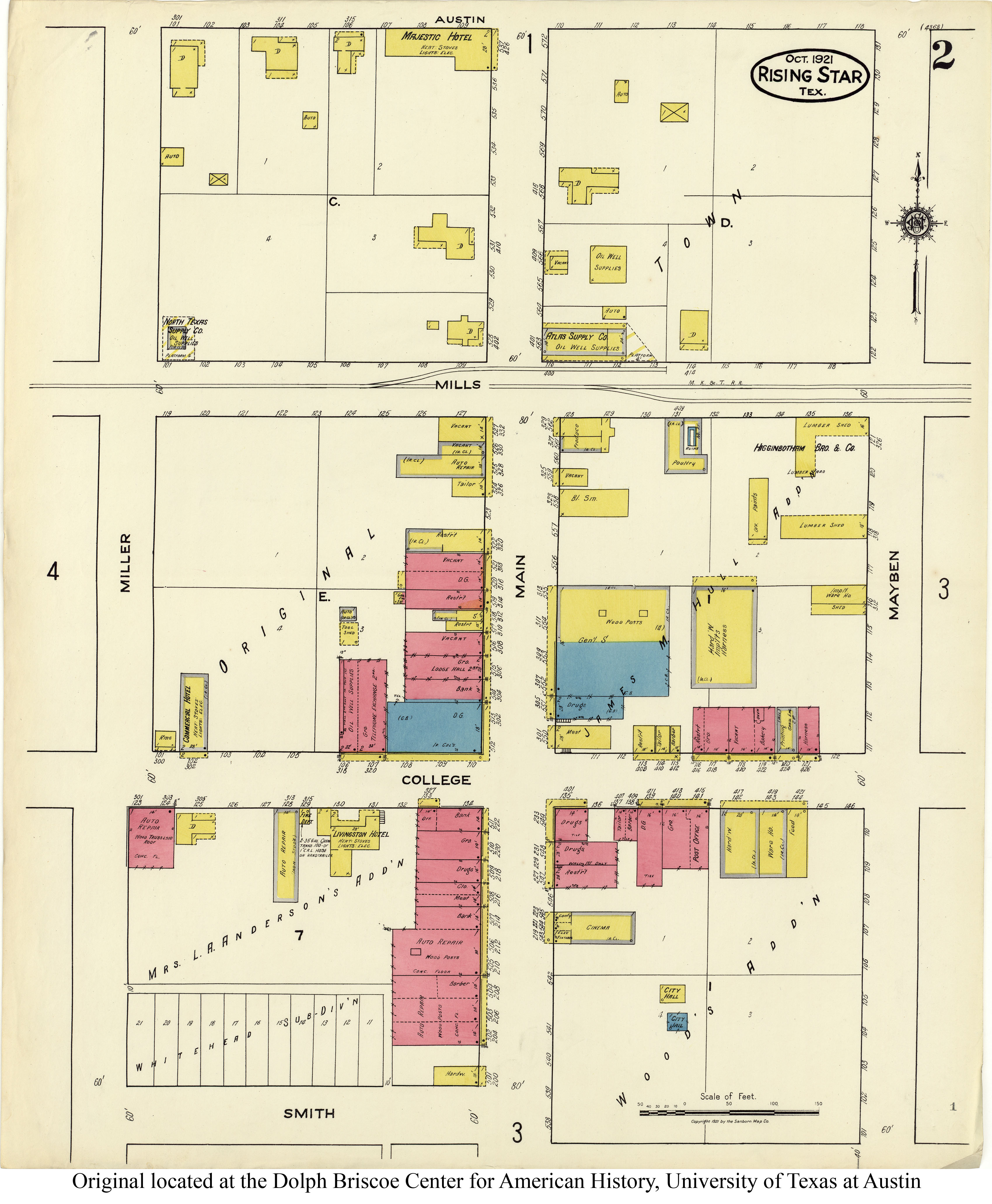 Sanborn Maps of Texas - Perry-Castañeda Map Collection - UT