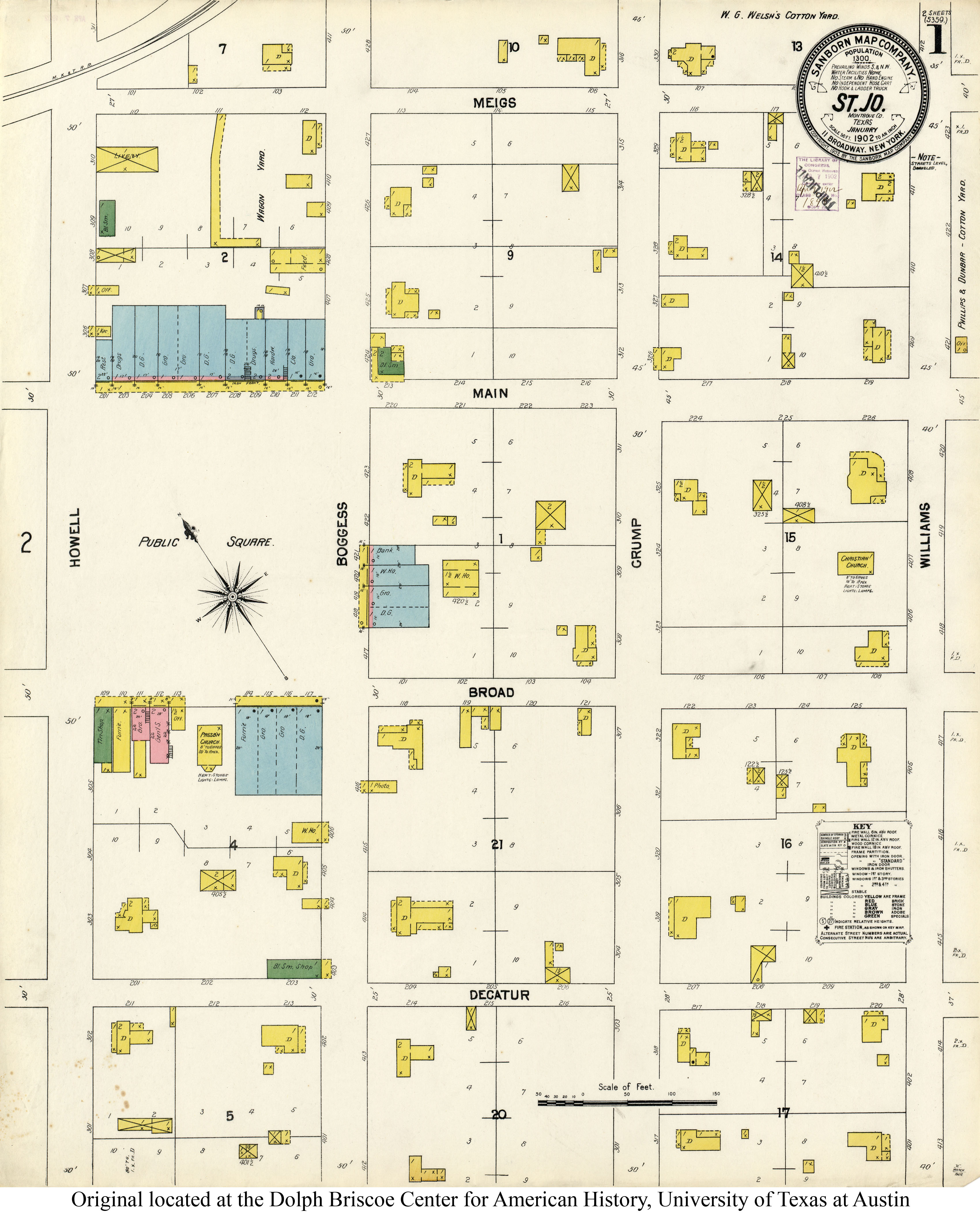 Sanborn Maps of Texas - Perry-Castañeda Map Collection - UT ... on old maps of columbia county, old schools in st. croix county wi, old texas state map,
