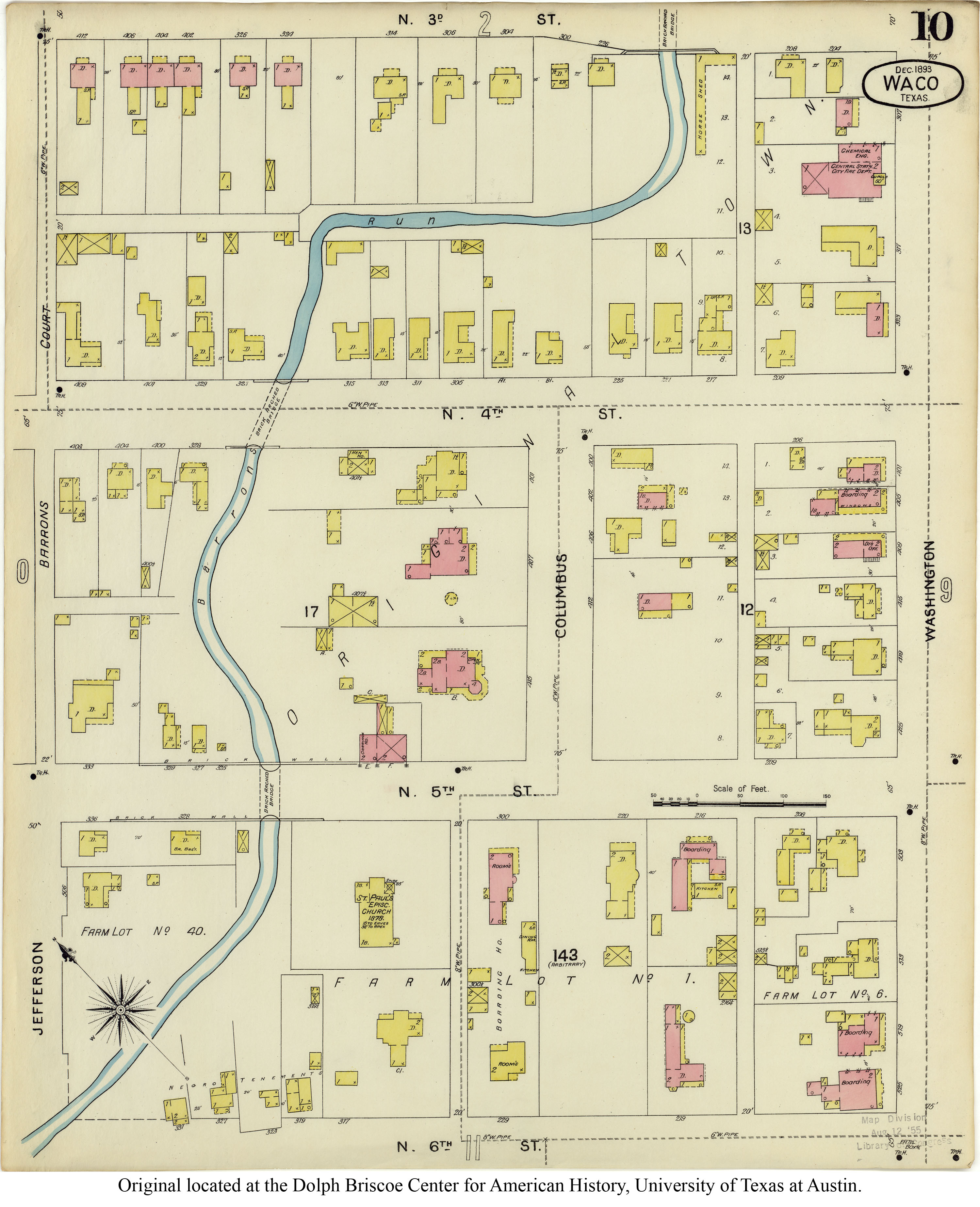 Sanborn Maps of Texas Perry Casta±eda Map Collection UT Library