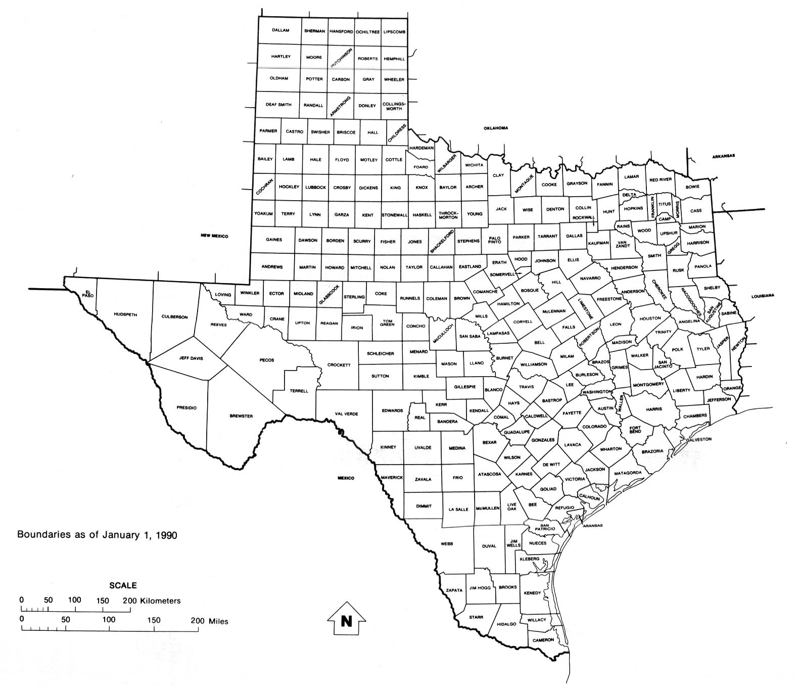 Interactive Texas County Map
