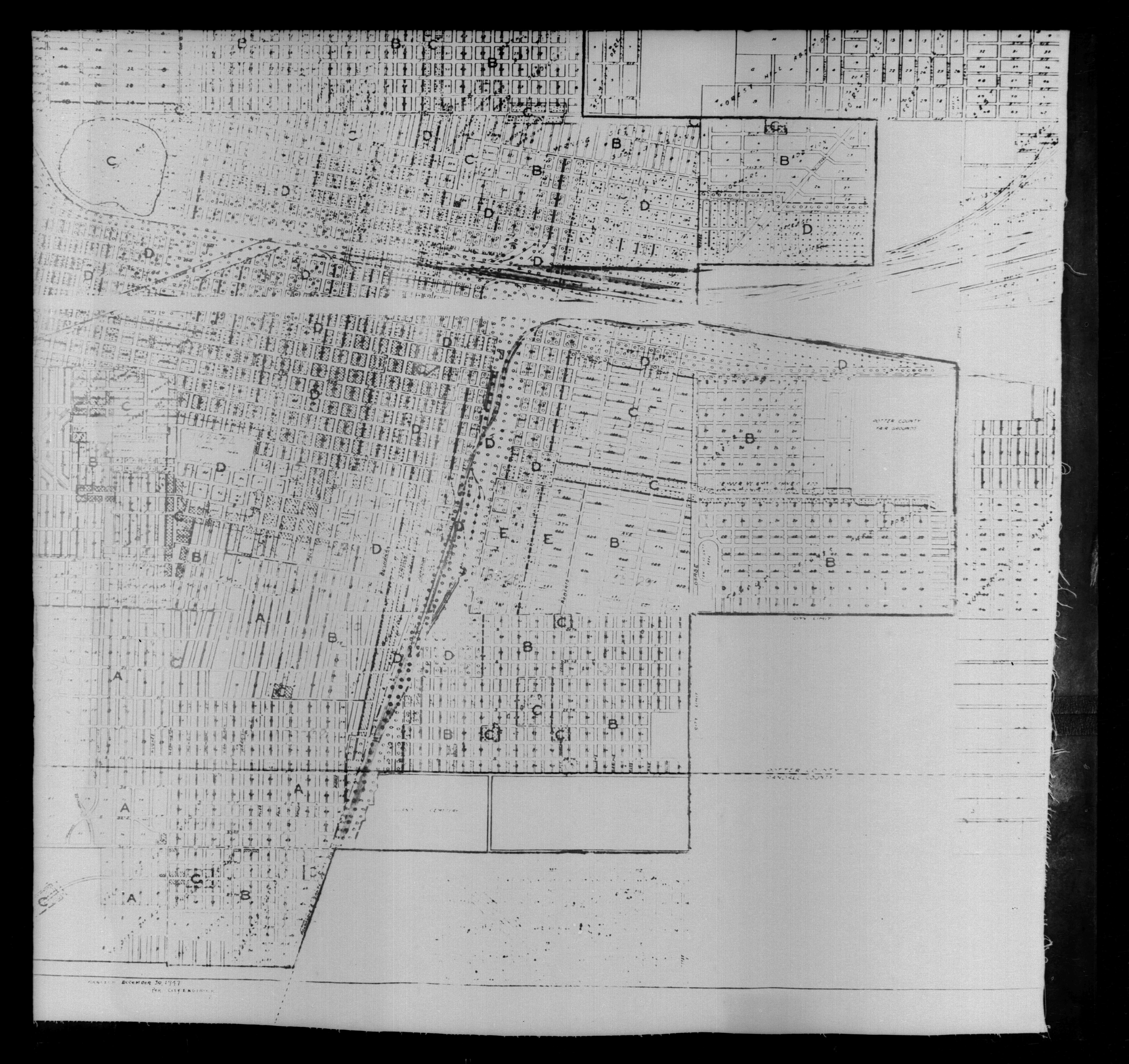 1940 Census Texas Enumeration District Maps - Perry