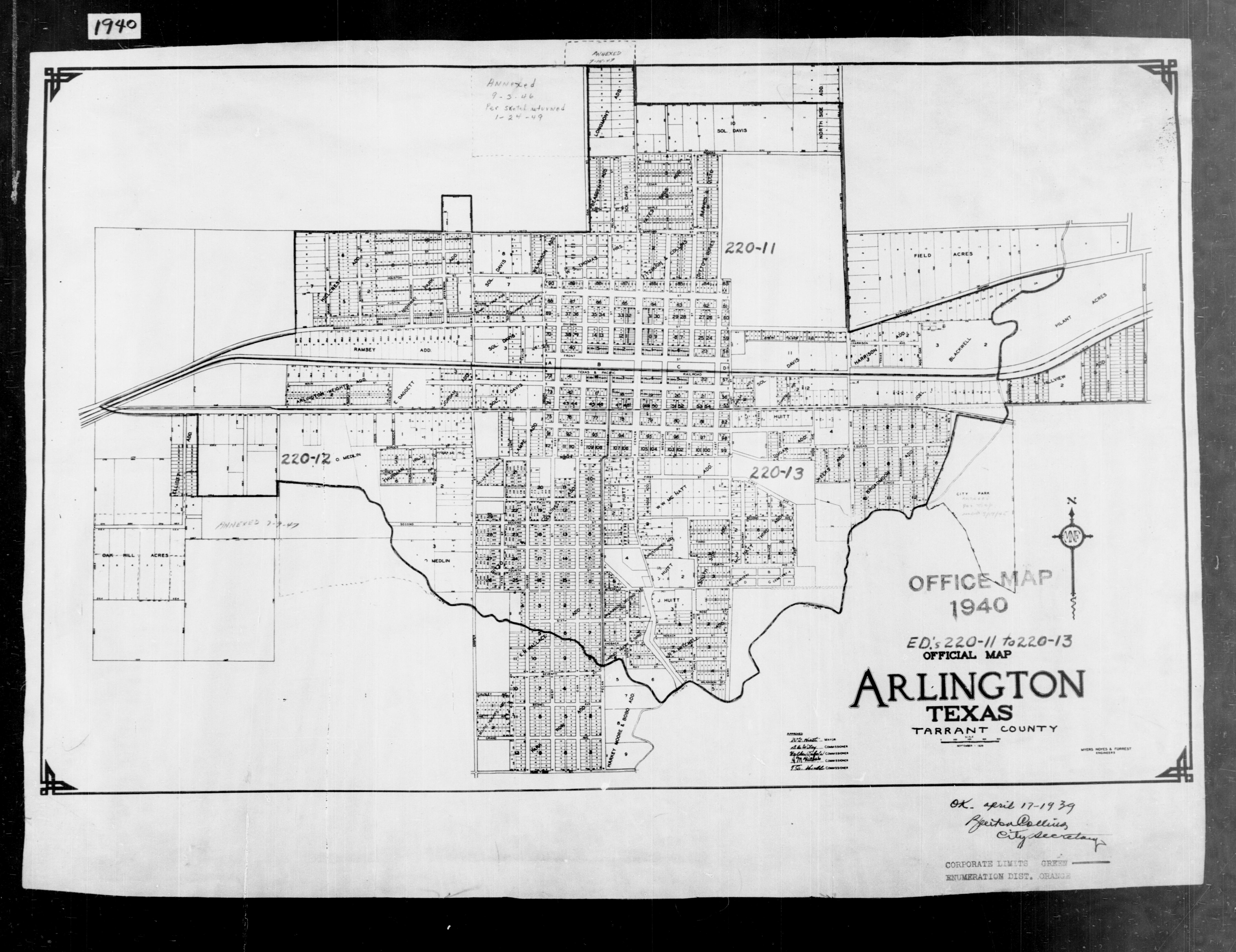 1940 Census Texas Enumeration District Maps - Perry-Castañeda Map on kilgore college map, missouri map of henderson, kilgore city map, current street map of texas henderson, kilgore tx map location,