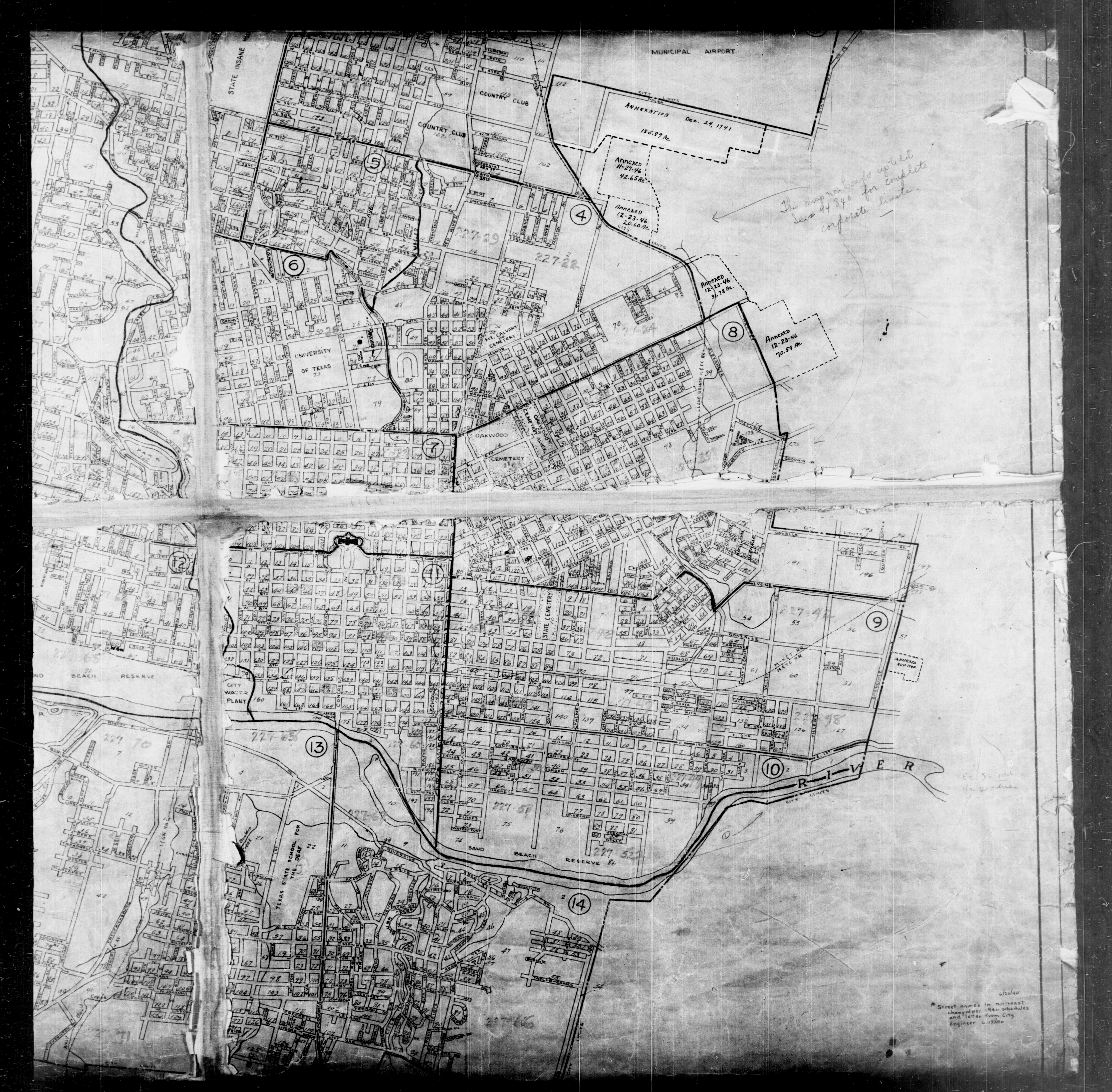 Historical: Texas Cities Historical Maps