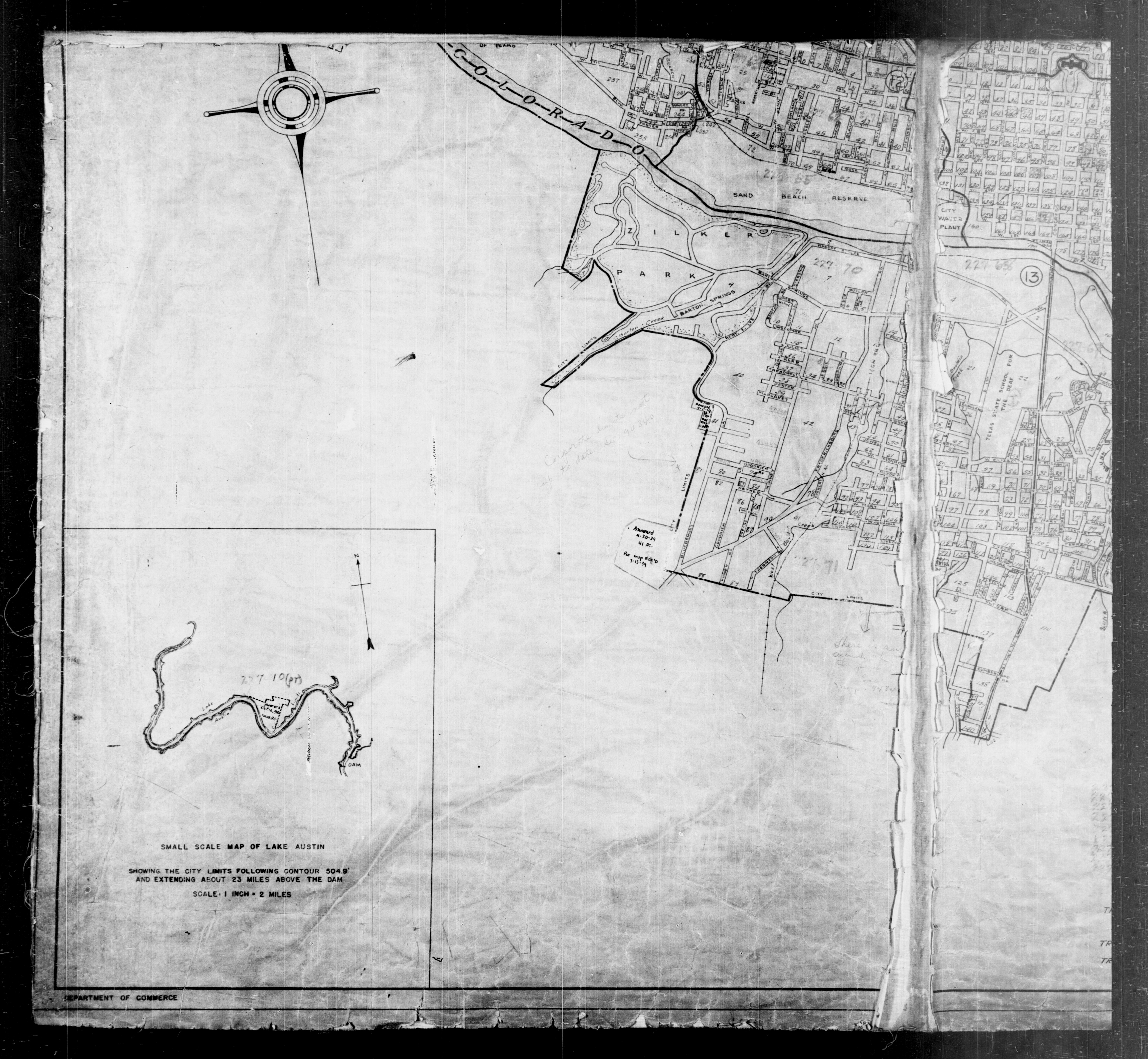 Austin, Texas Maps - Perry-Castañeda Map Collection - UT Library Online