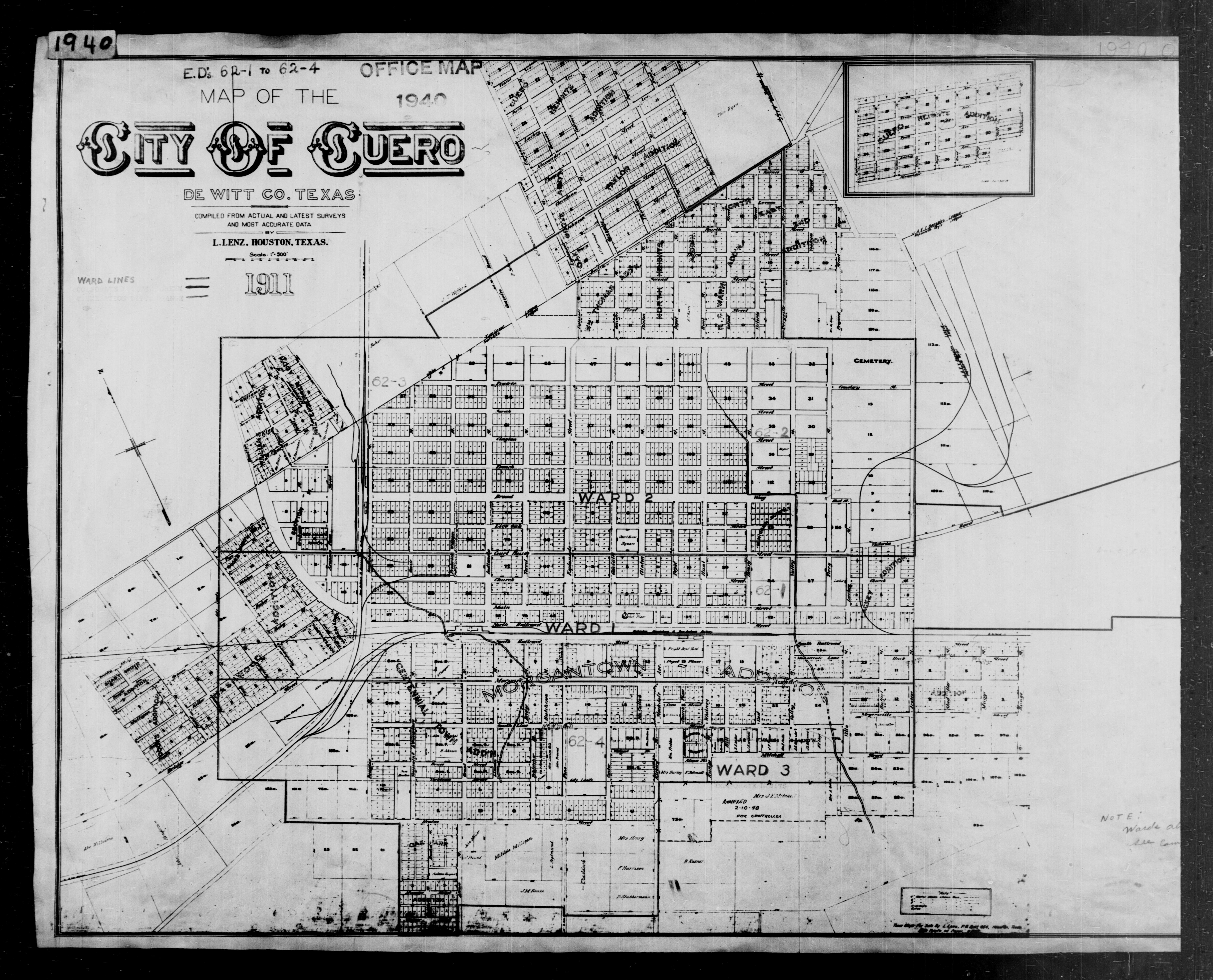 Awesome collection of birth certificate houston business cards 1940 census texas enumeration district maps perry castaeda map aiddatafo Image collections