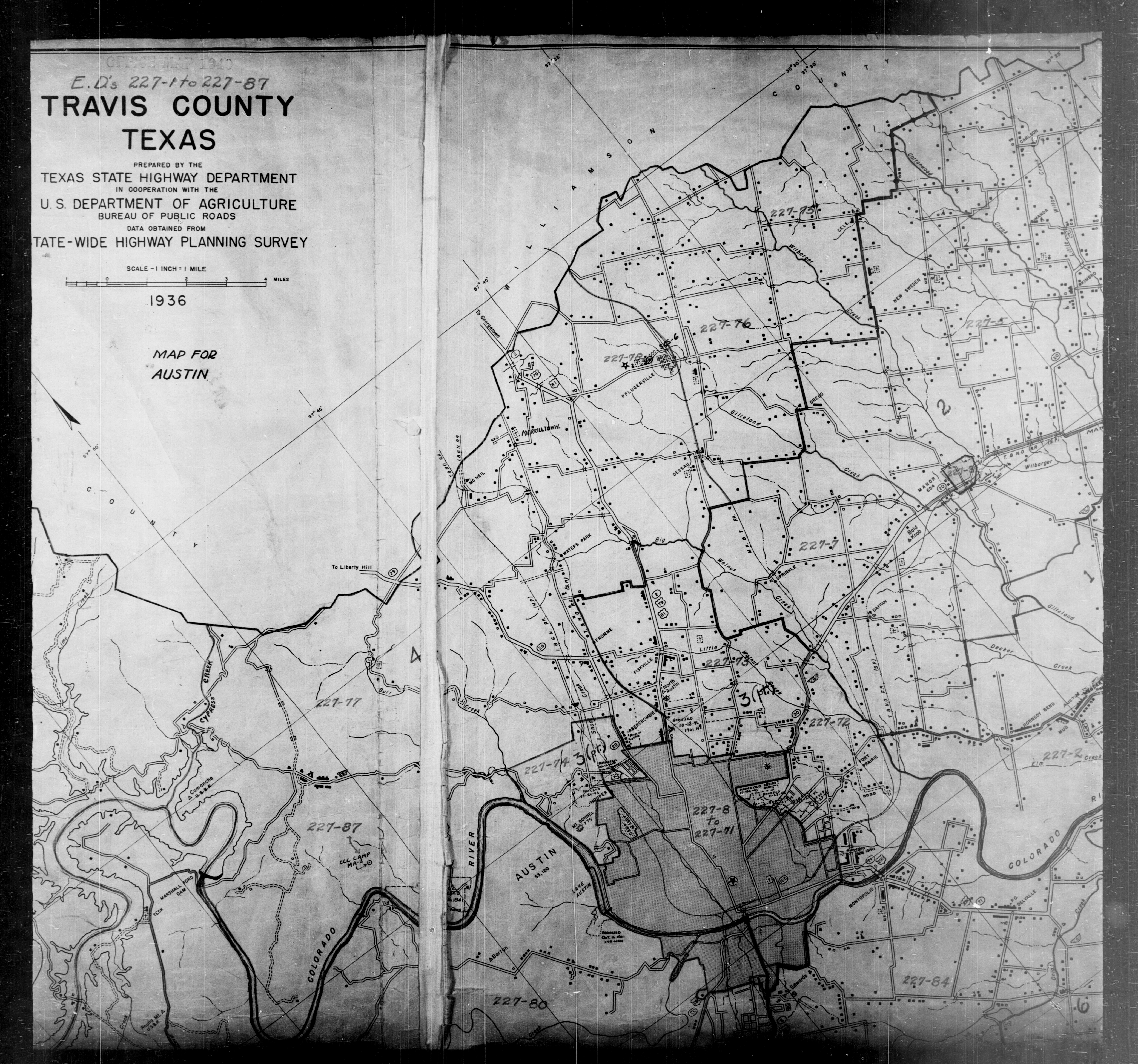 Map Of Texas District 6.1940 Census Texas Enumeration District Maps Perry Castaneda Map