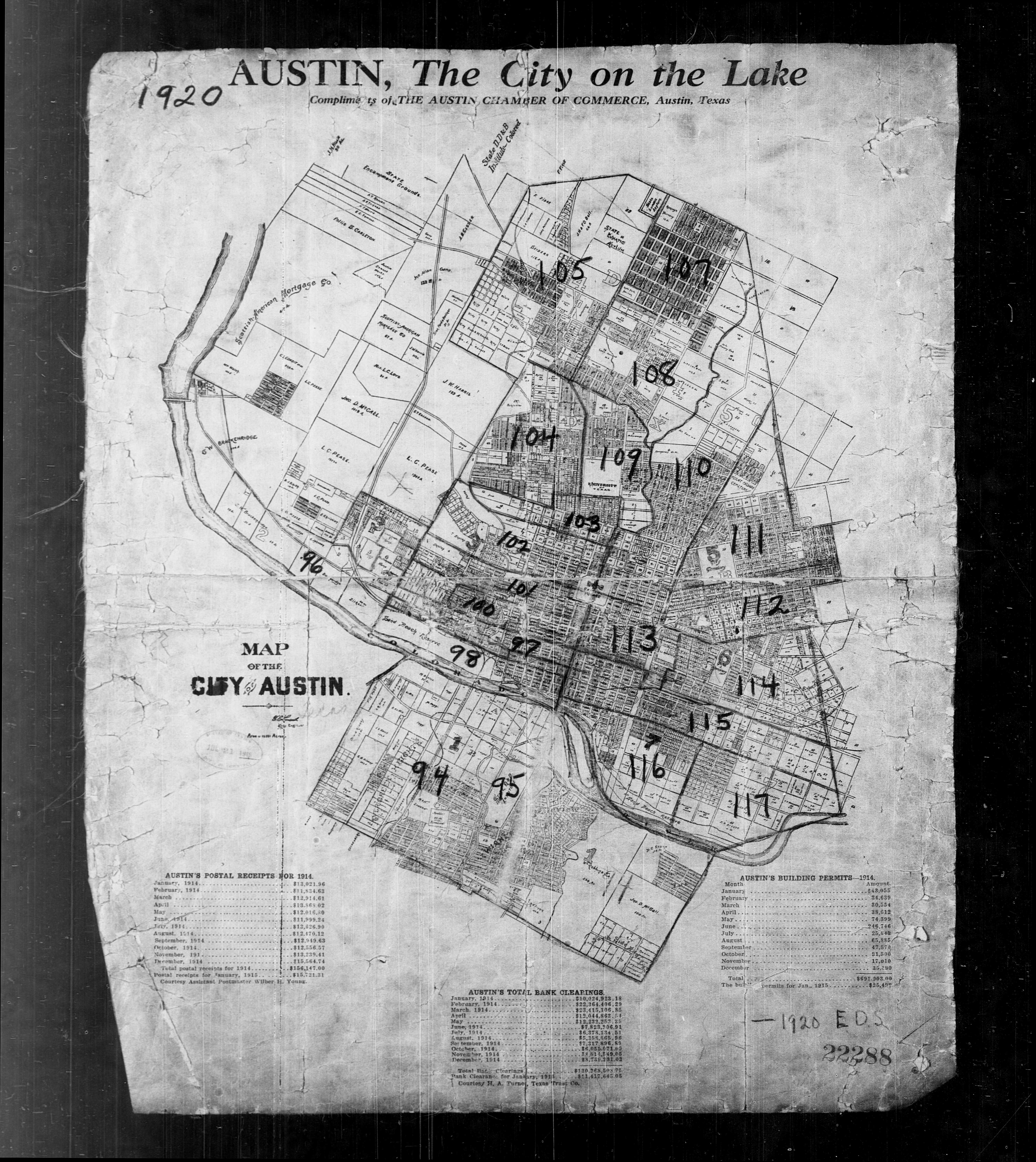 Census Virtual Rosewood Research Project Census Texas - 1920 map of us
