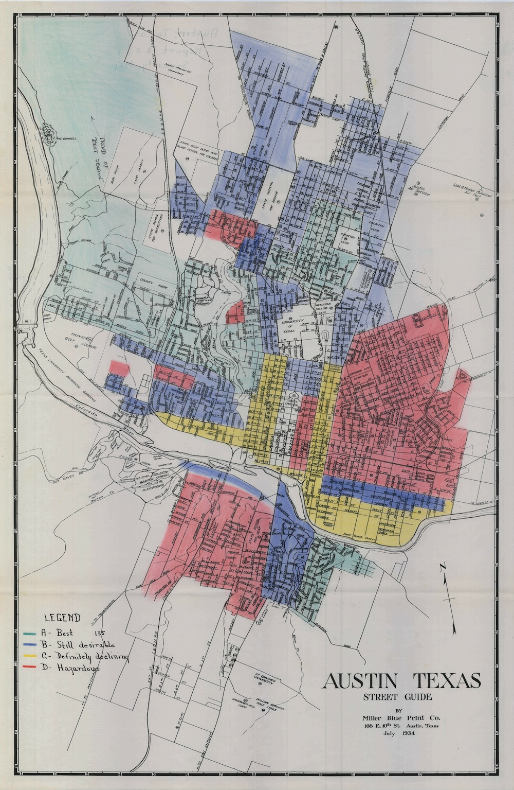 Texas Cities Historical Maps - Perry-Castañeda Map ...