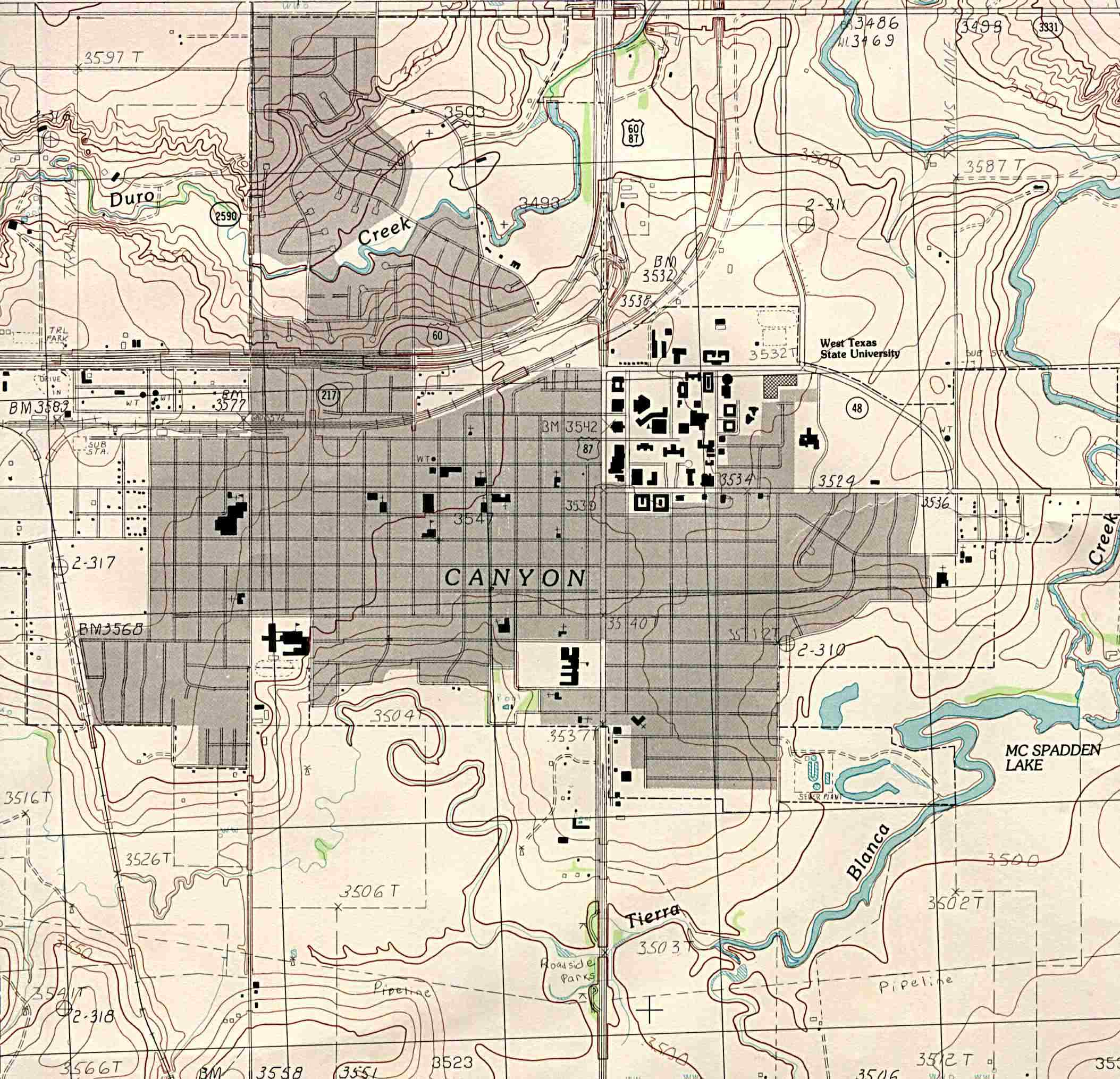 Texas City Maps PerryCastañeda Map Collection UT Library Online - Map of west texas