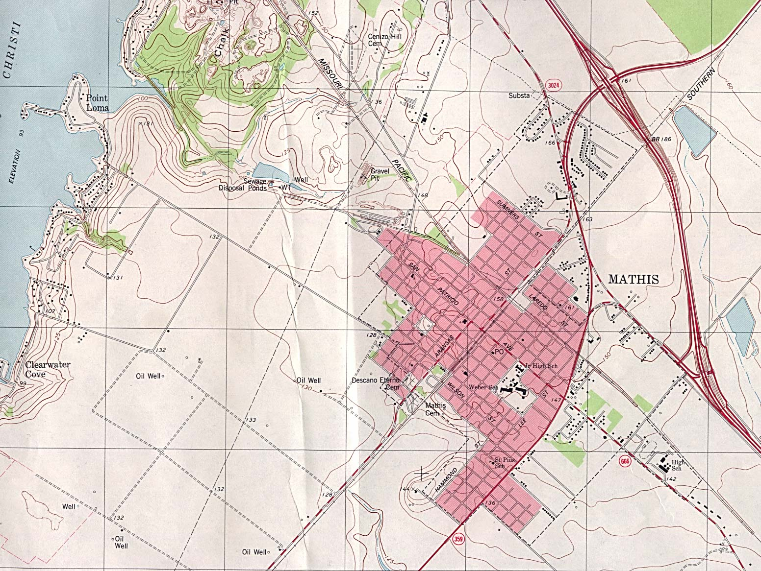 Texas City Maps - Perry-Castañeda Map Collection - UT Liry Online on