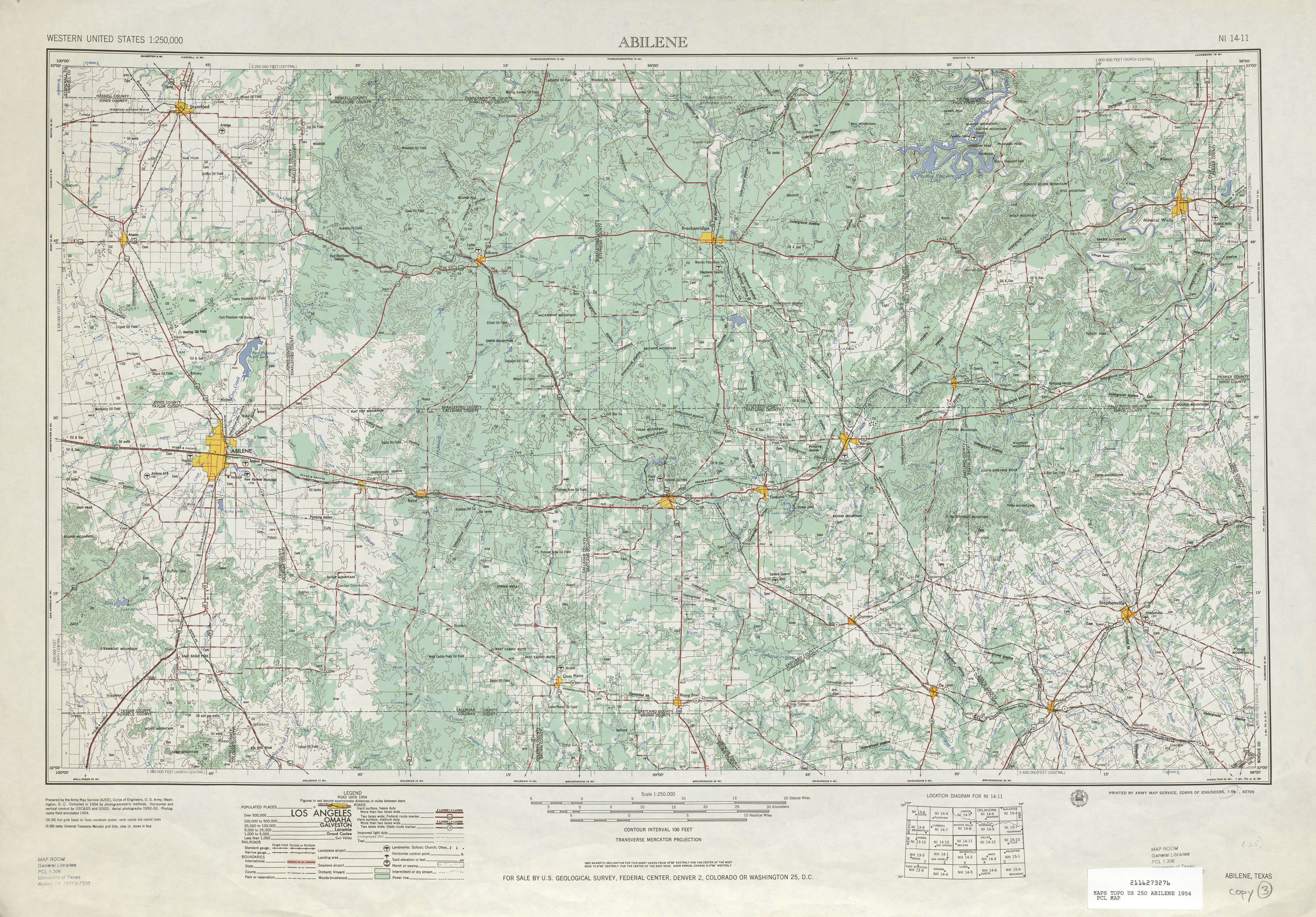 United States Topographic Maps  PerryCastañeda Map - Topographic map of eastern us